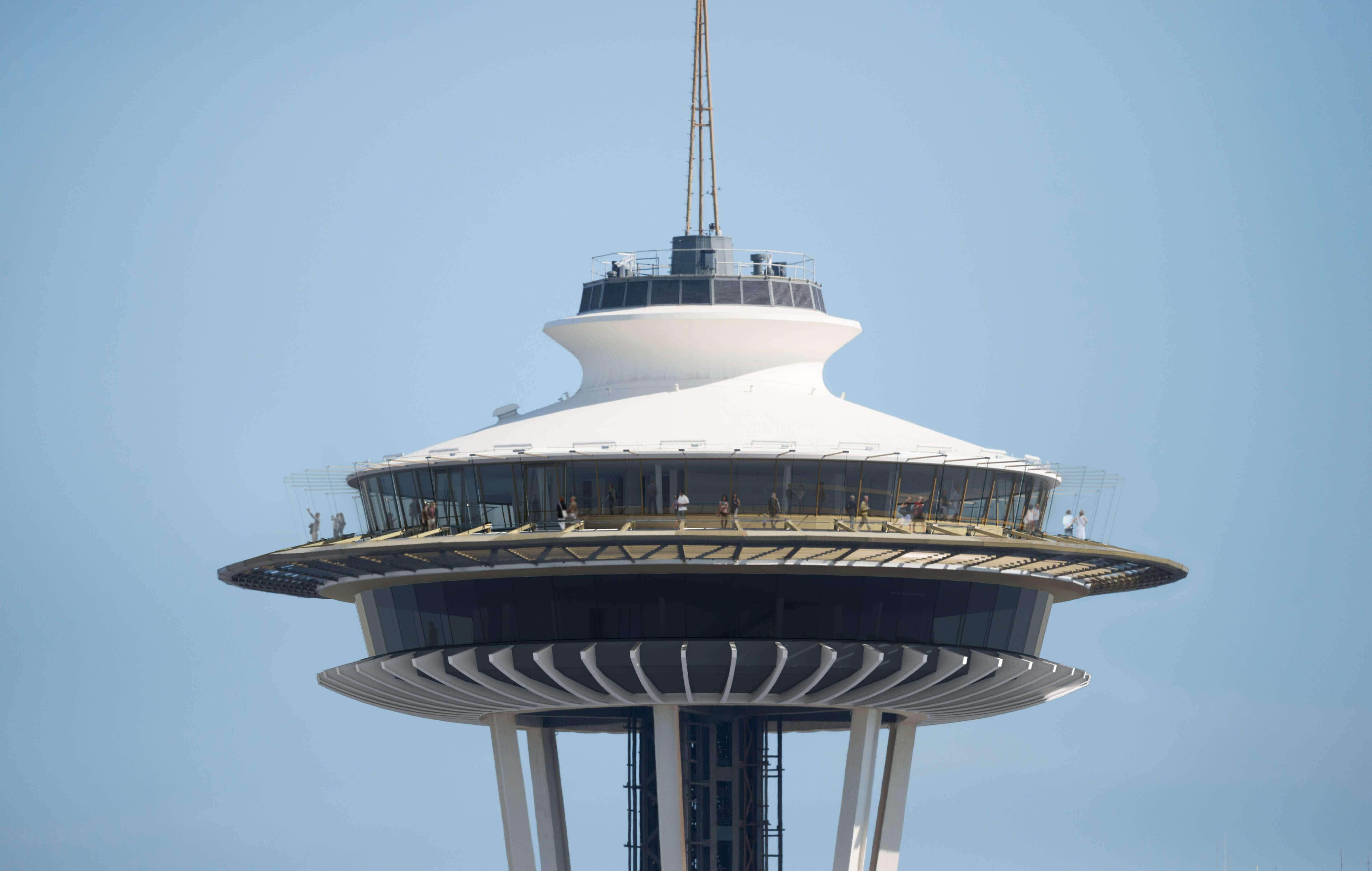Seattle's iconic Space Needle set for a $100 million revamp with vertigo-inducing glass floors