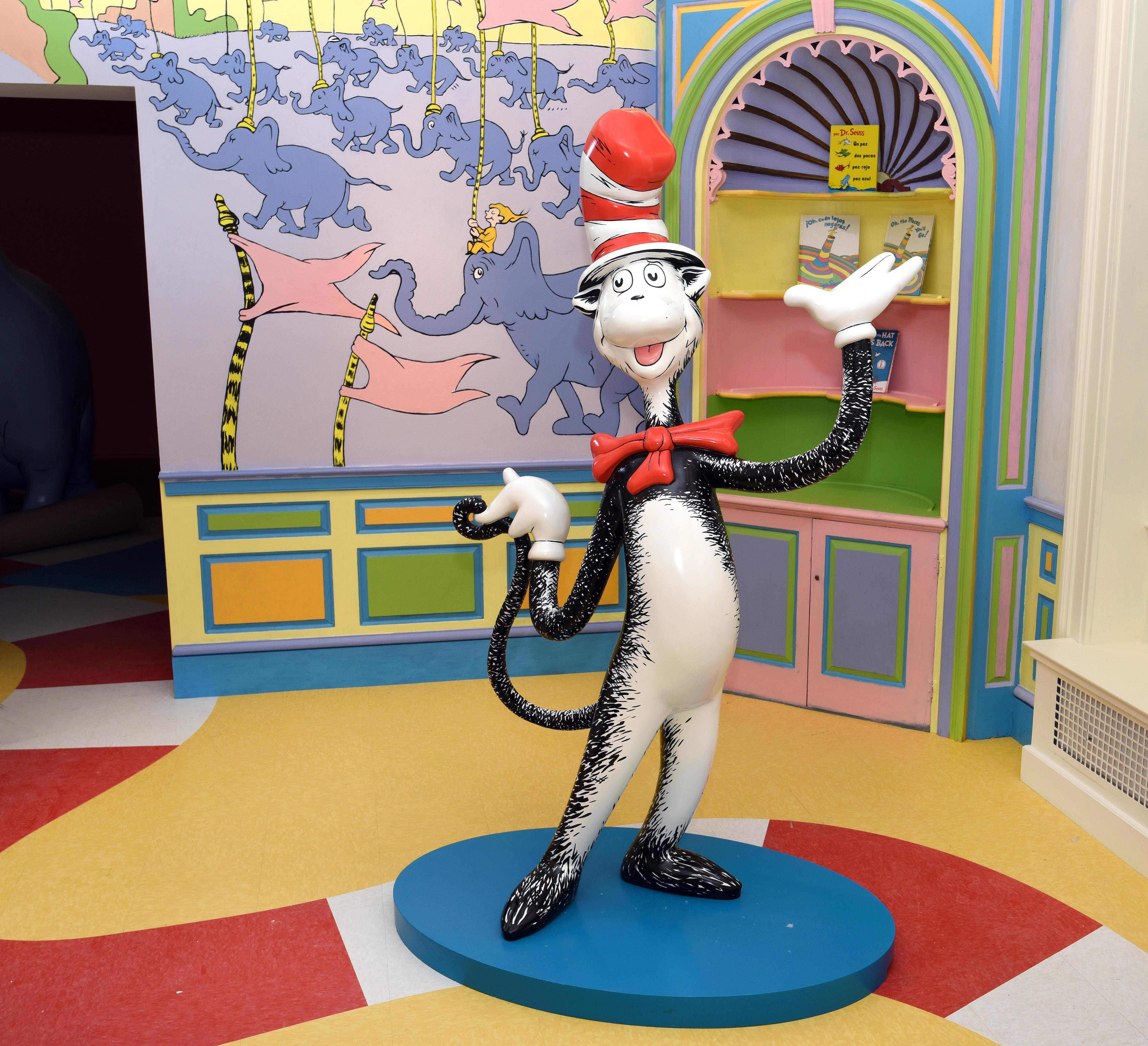 Explore your favourite childhood books as a Dr Seuss Museum opens in the US