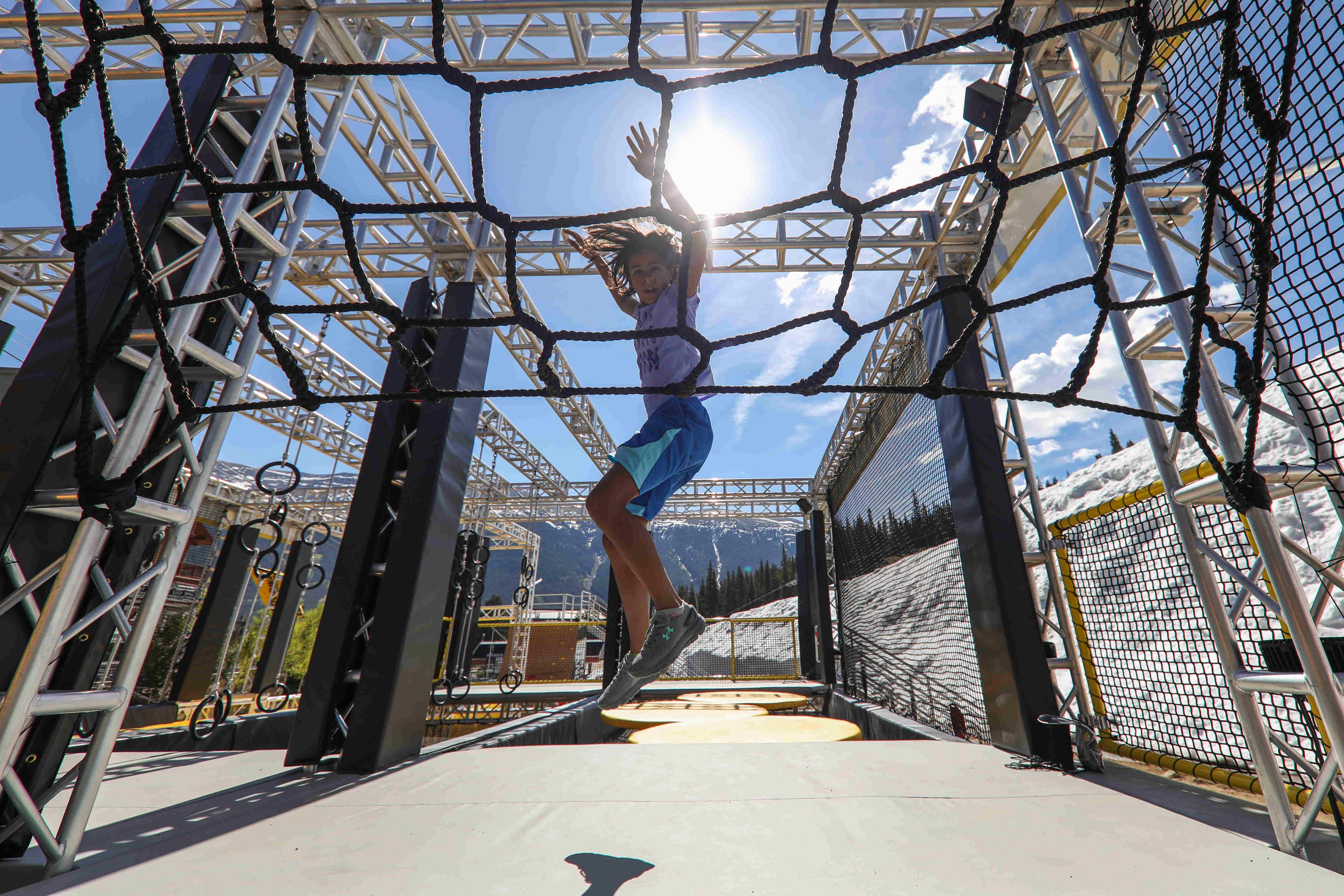 Colorado's Copper Mountain resort unveils no-snow obstacle attraction