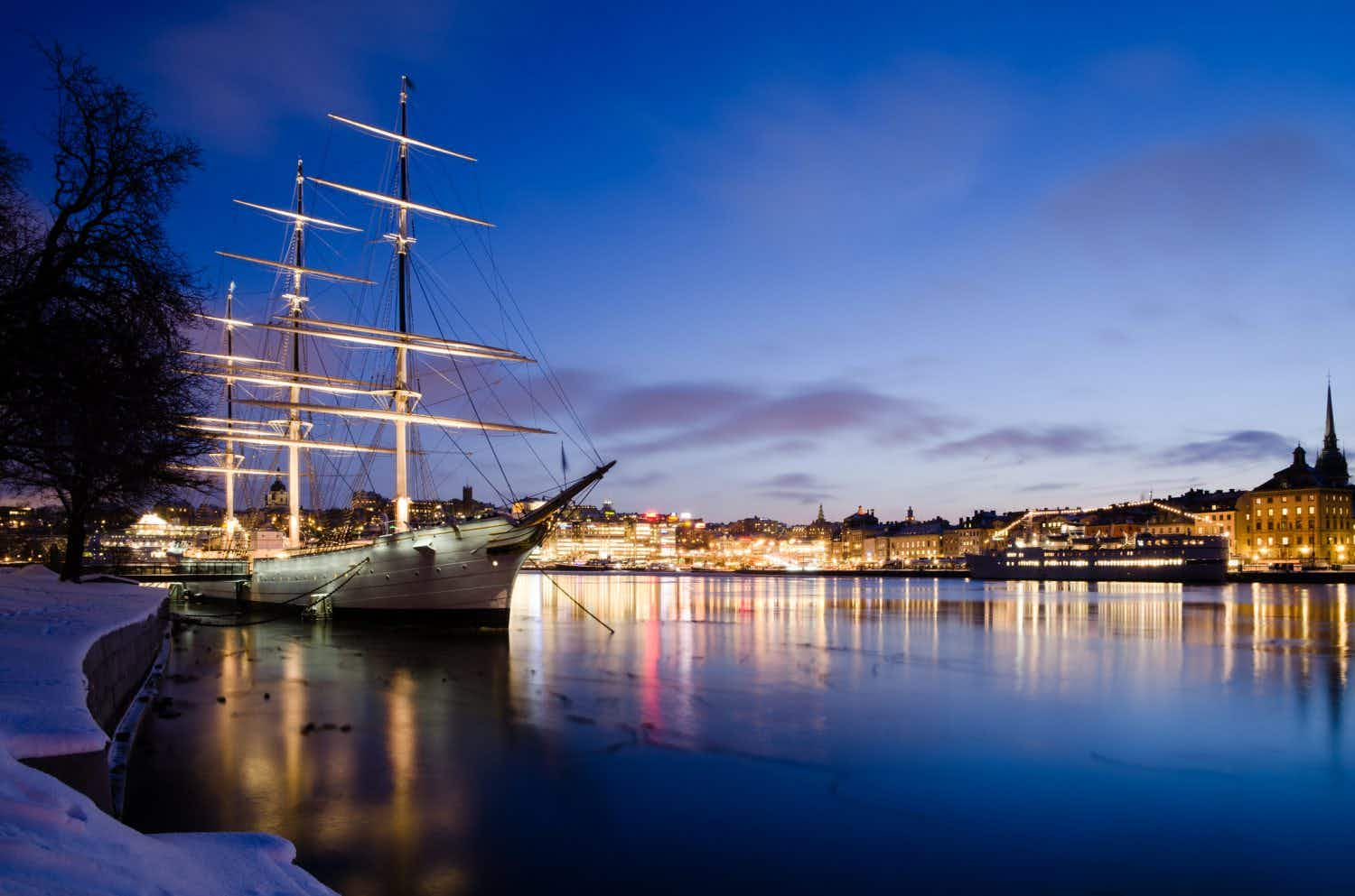Inside Stockholm's floating hostel: how a 19th century ship became 21st century accommodation