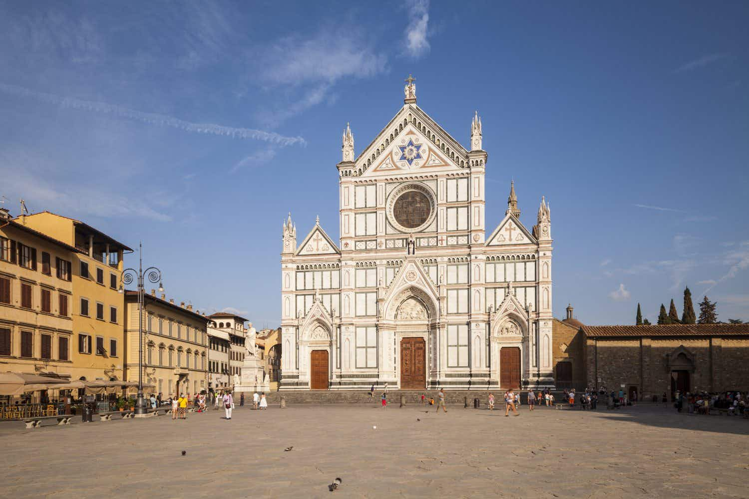Here's why you might get a soggy bottom sitting on historic basilica steps in Florence