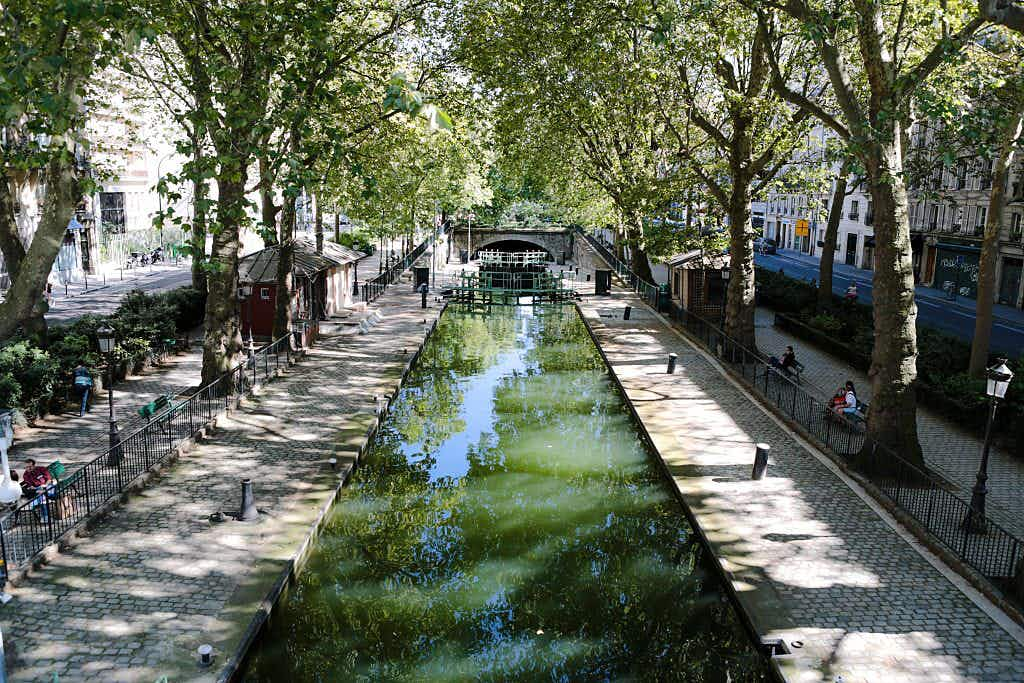 From this weekend you will be able to take a swim in a Paris canal
