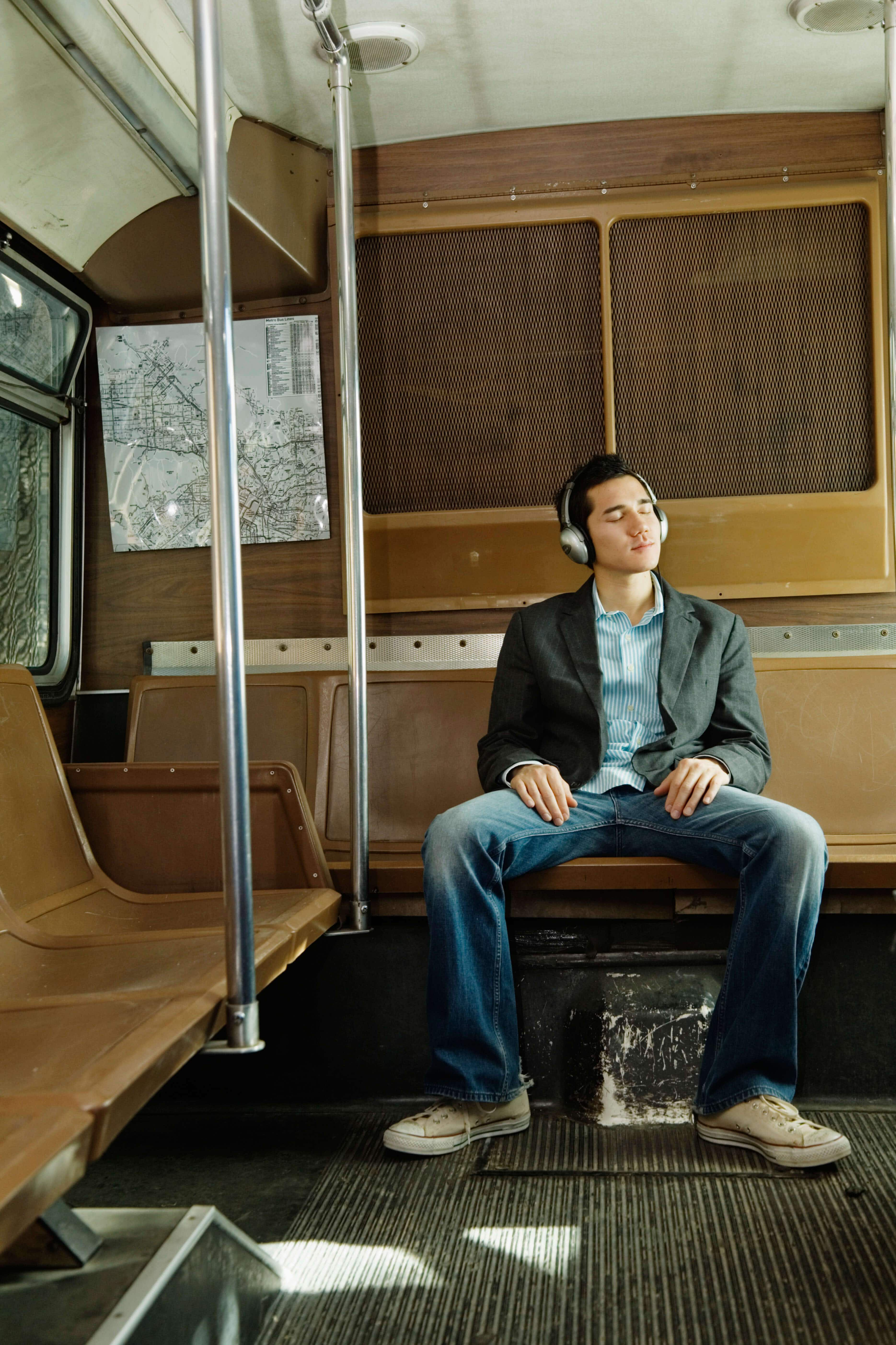 Manspreading on public transport in Madrid has just been made illegal