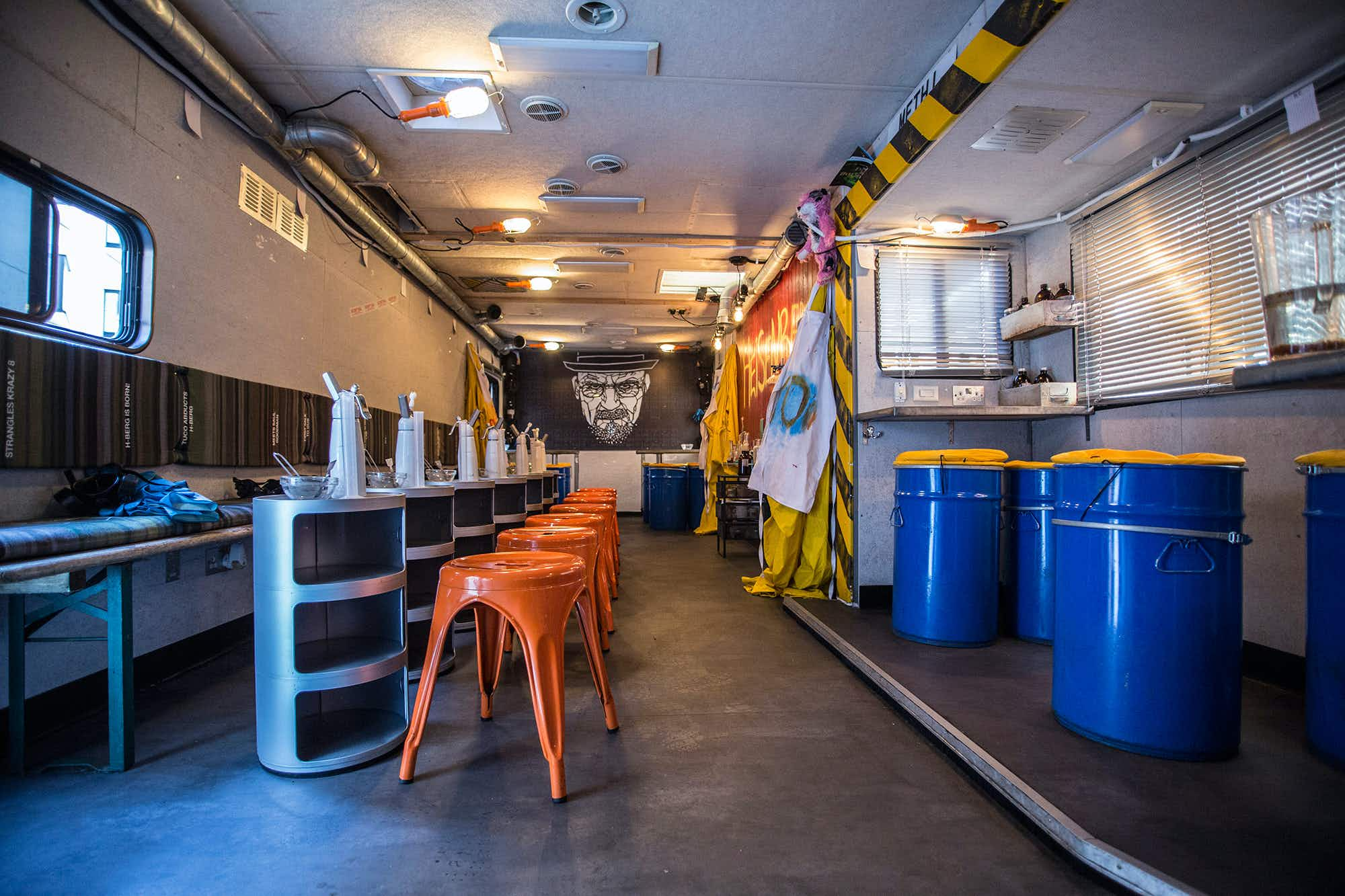 A Breaking Bad-inspired cocktail bar set inside an RV is opening in New York this summer