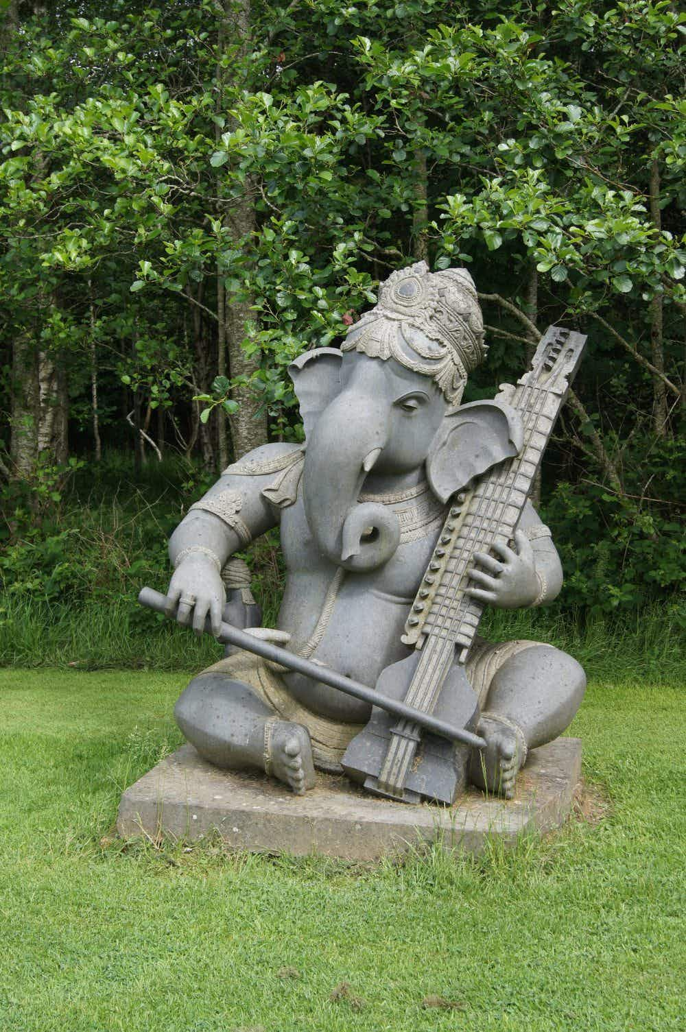 Take a look inside the forgotten Indian sculpture park in a quiet corner of Ireland