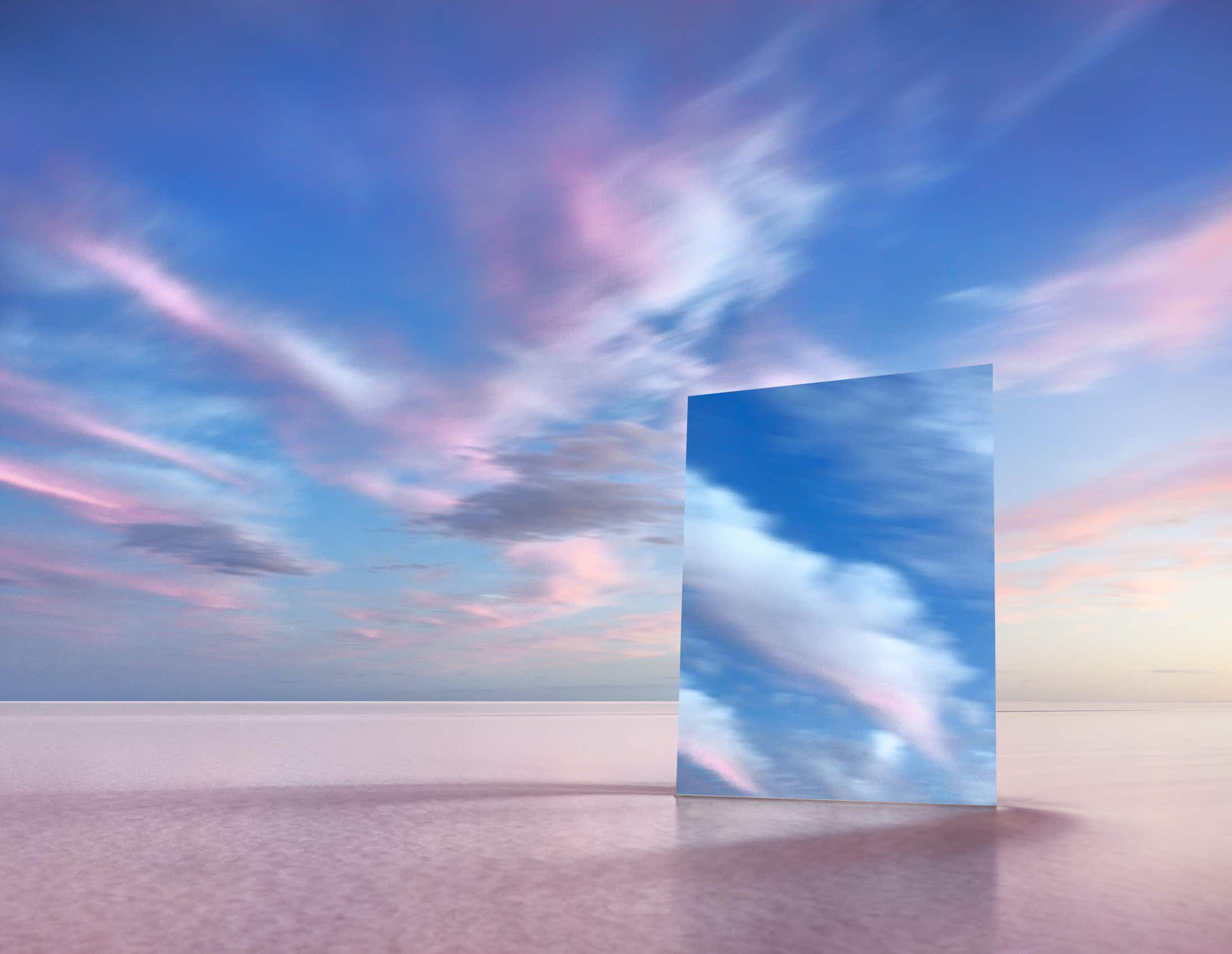 See Australia's Lake Eyre reflected in mirrors at a new London exhibition