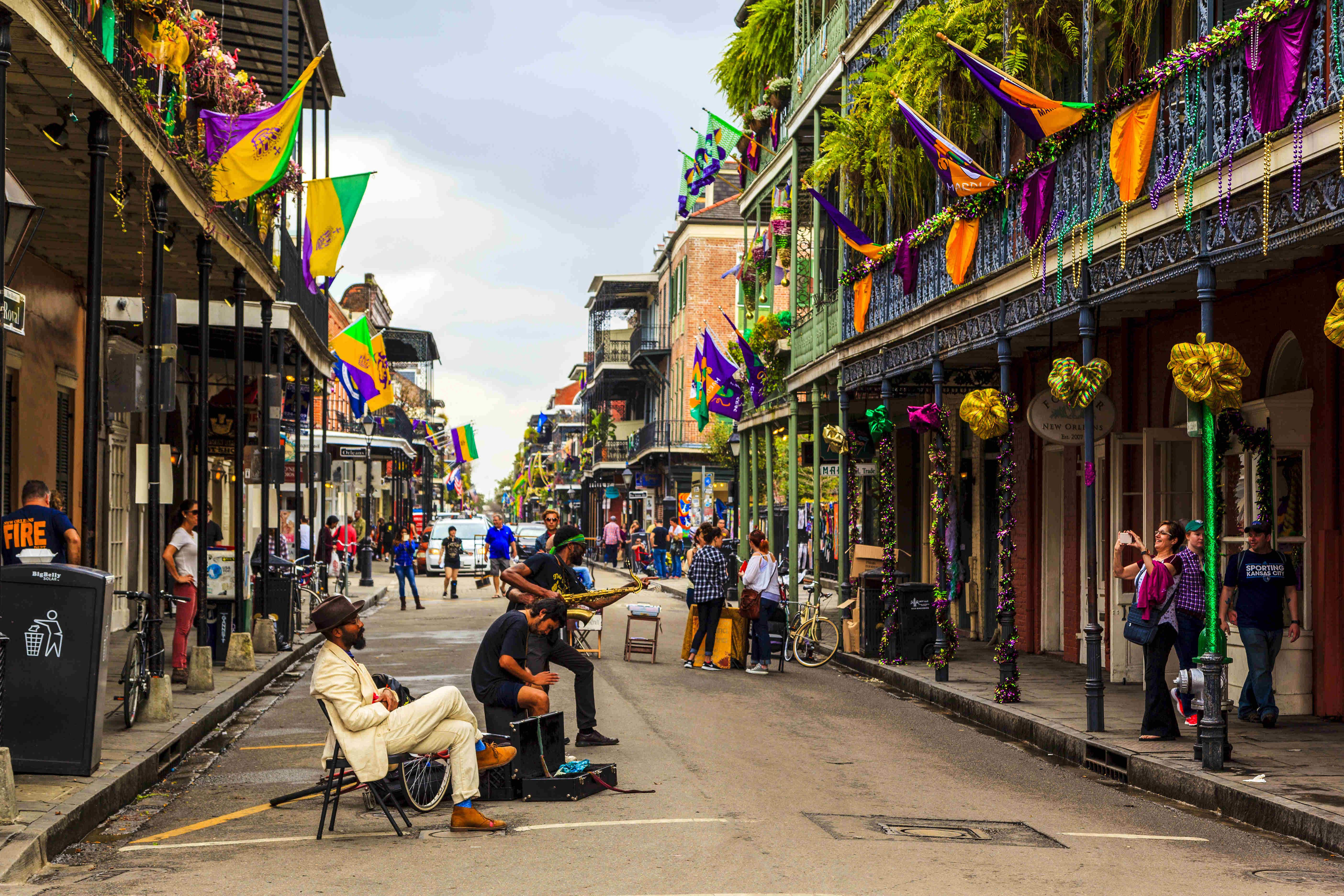 You can challenge young street poets of New Orleans to write a poem for you on the spot