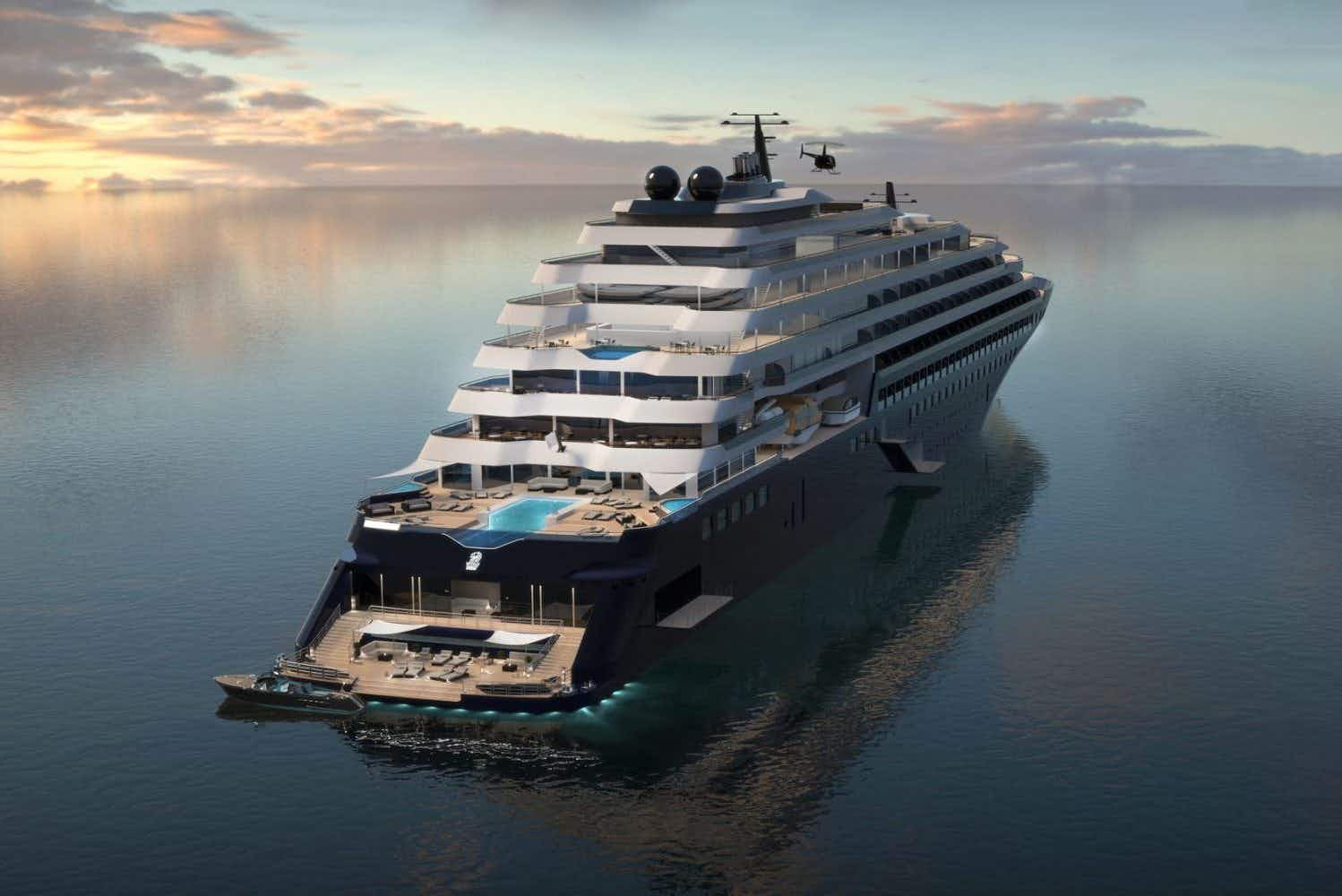 Luxury hotel experience meets the sea as the Ritz-Carlton launches a cruising collection