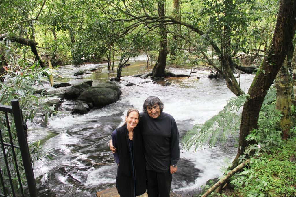 An Indian wildlife sanctuary has been painstakingly brought back to life over 26 years by this couple