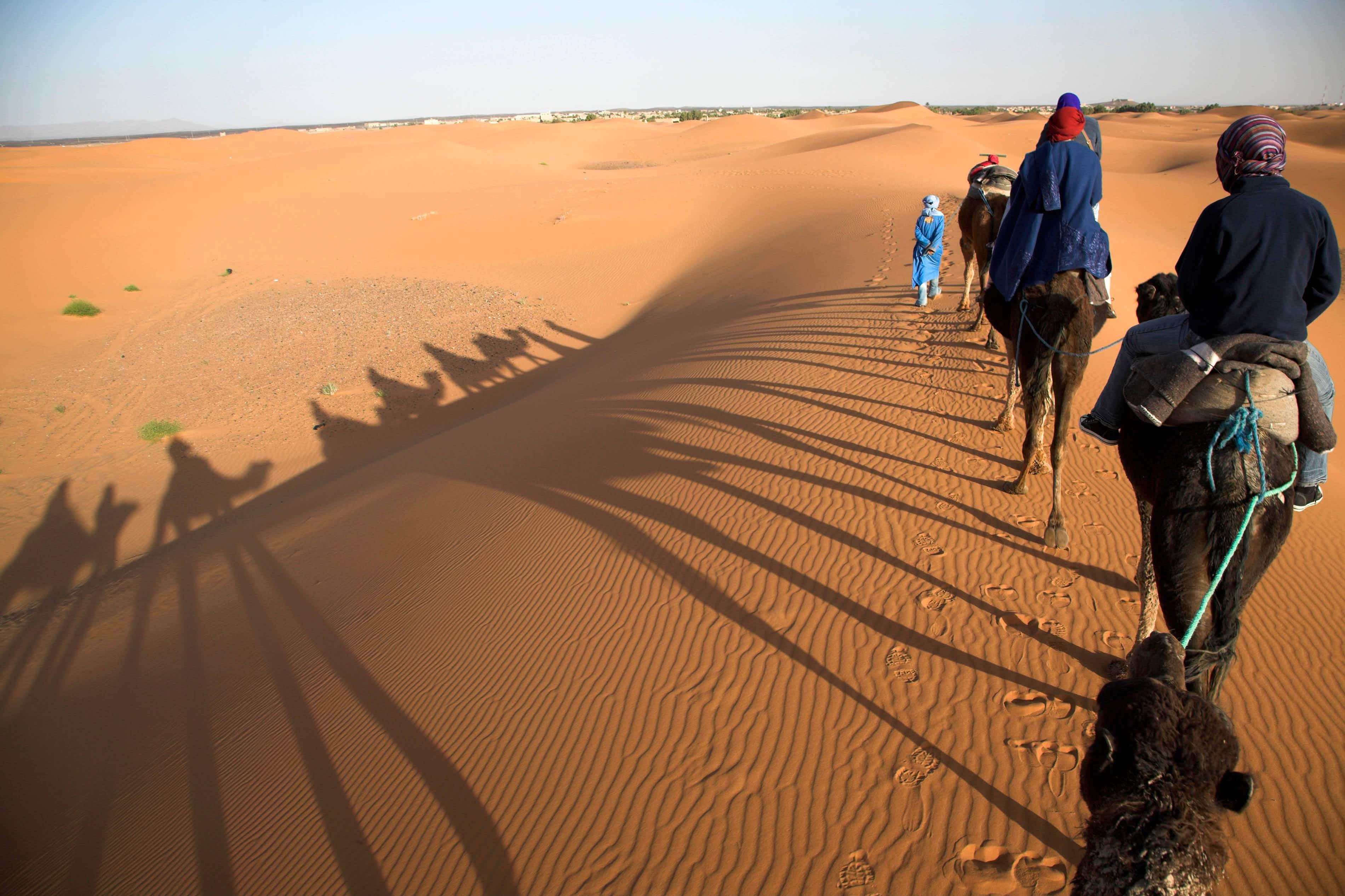 Portuguese filmmaker captures mesmerising drone footage of Morocco's unique landscape