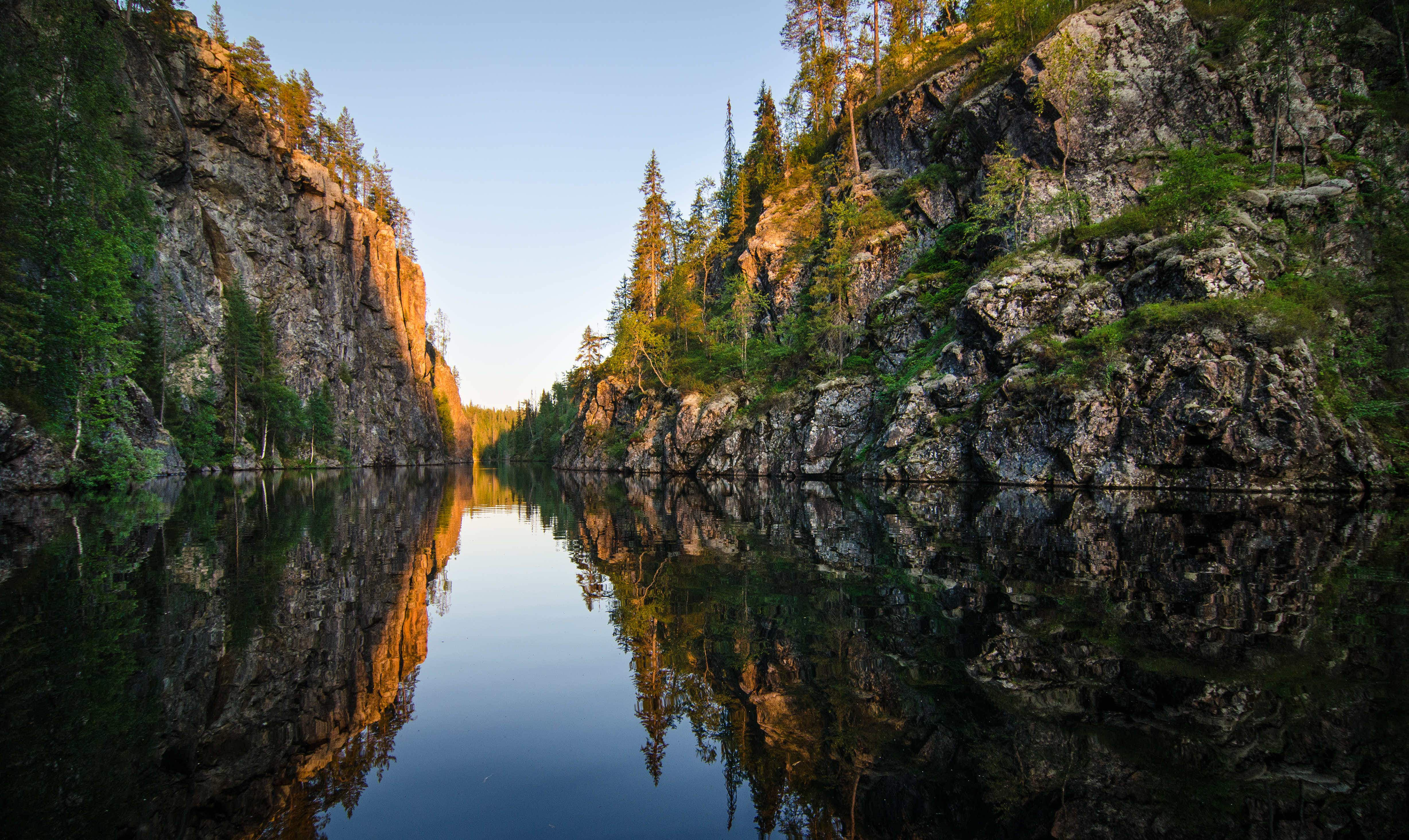 Finland's newest national park is opening this week as the country celebrates 100 years of independence