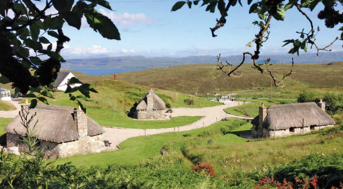 Got a spare million pounds in your pocket? You could buy this entire village on Scotland's Isle of Skye