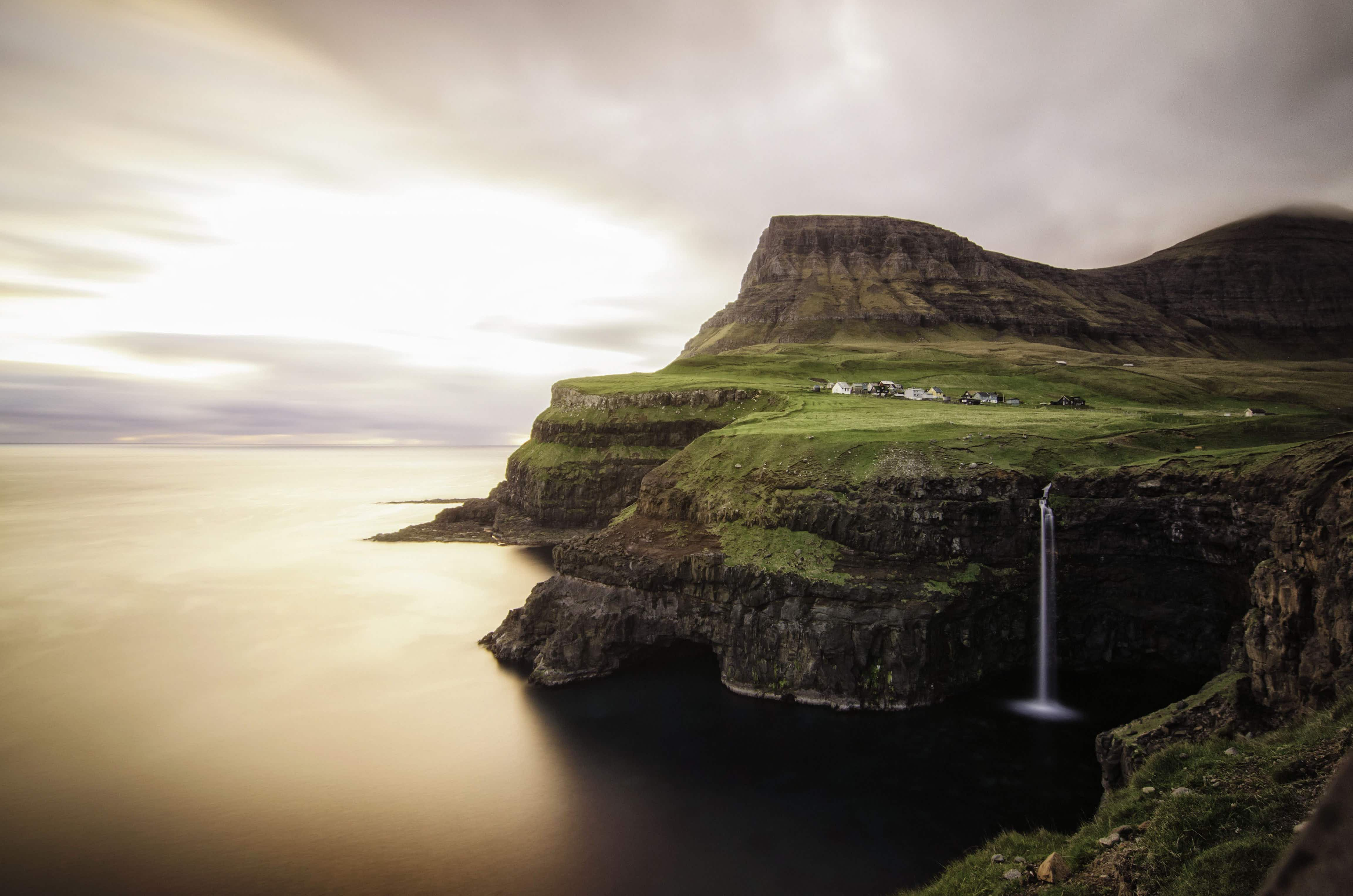 A room with a view - check out this newly opened guesthouse by the Faroe Islands' famous Múlafossur waterfall