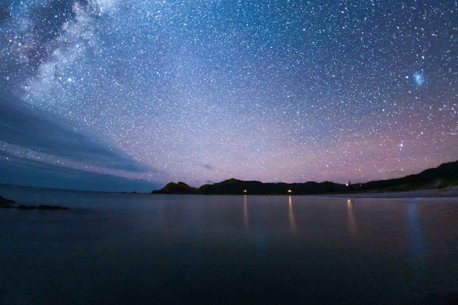 An entire island in New Zealand has been designated an International Dark Sky Sanctuary