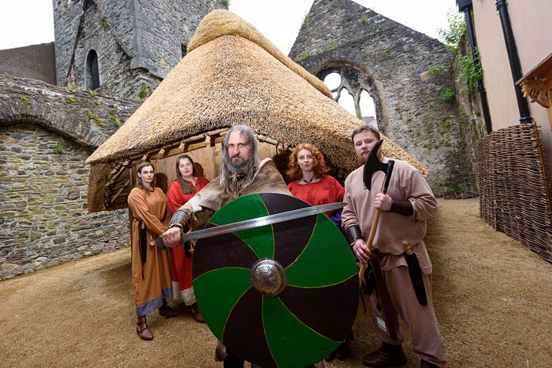 Have you ever wanted to live and breathe as a Viking? Visit