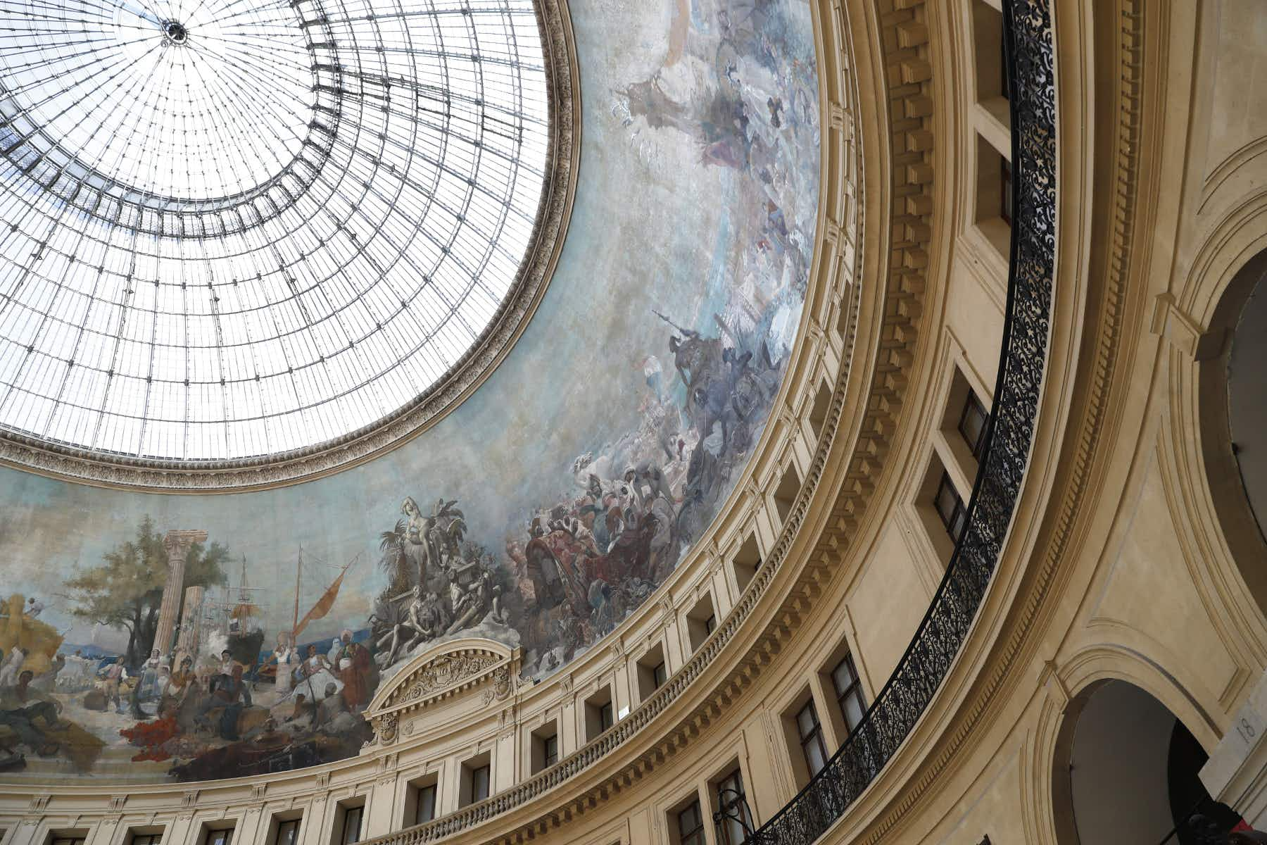 Paris' historic stock exchange building set to become a modern art museum