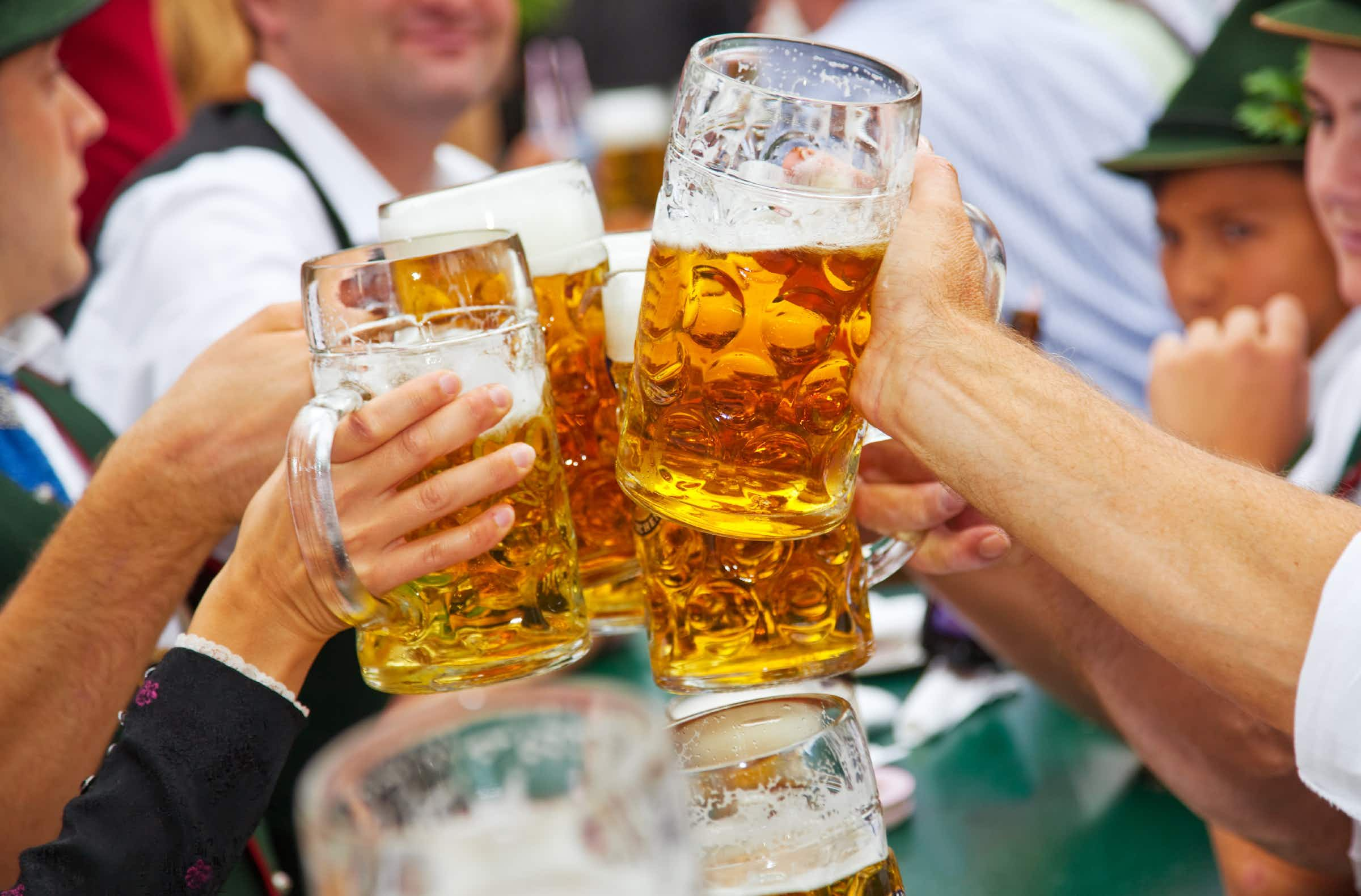 This is how much a beer will set you back at Oktoberfest in Munich this year