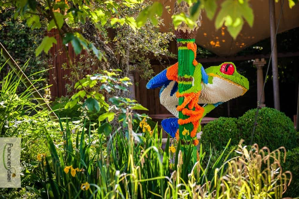 Explore a zoo of endangered animals made entirely of Lego in Belgium