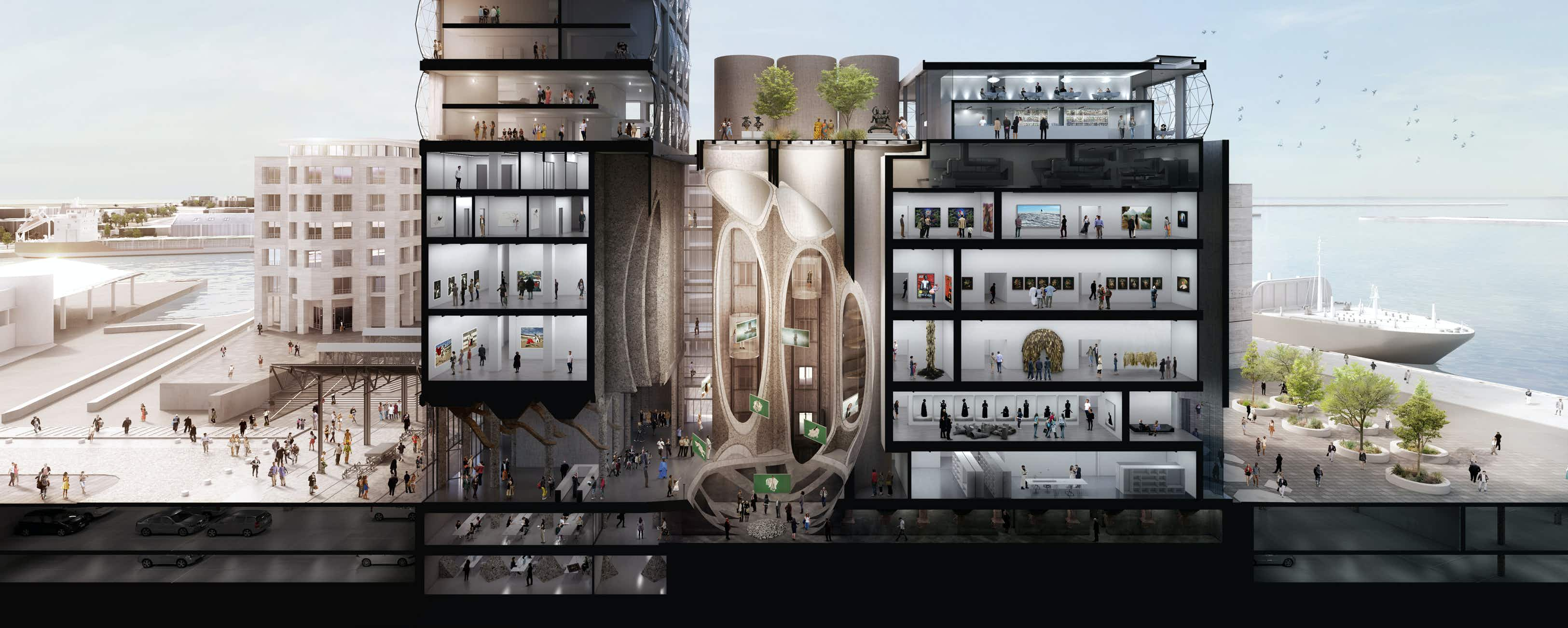 A 90-year-old grain silo is being transformed into a luxury hotel and museum in Cape Town