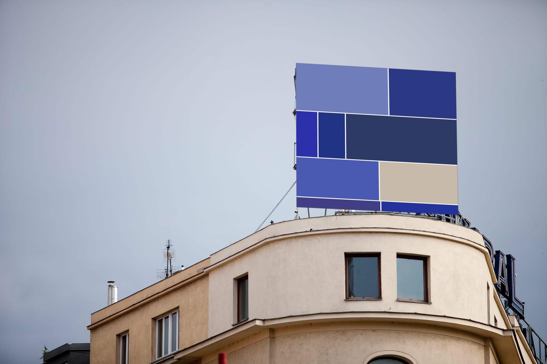 Artist creates stunning minimalist street installations in European cities based on Google Image searches
