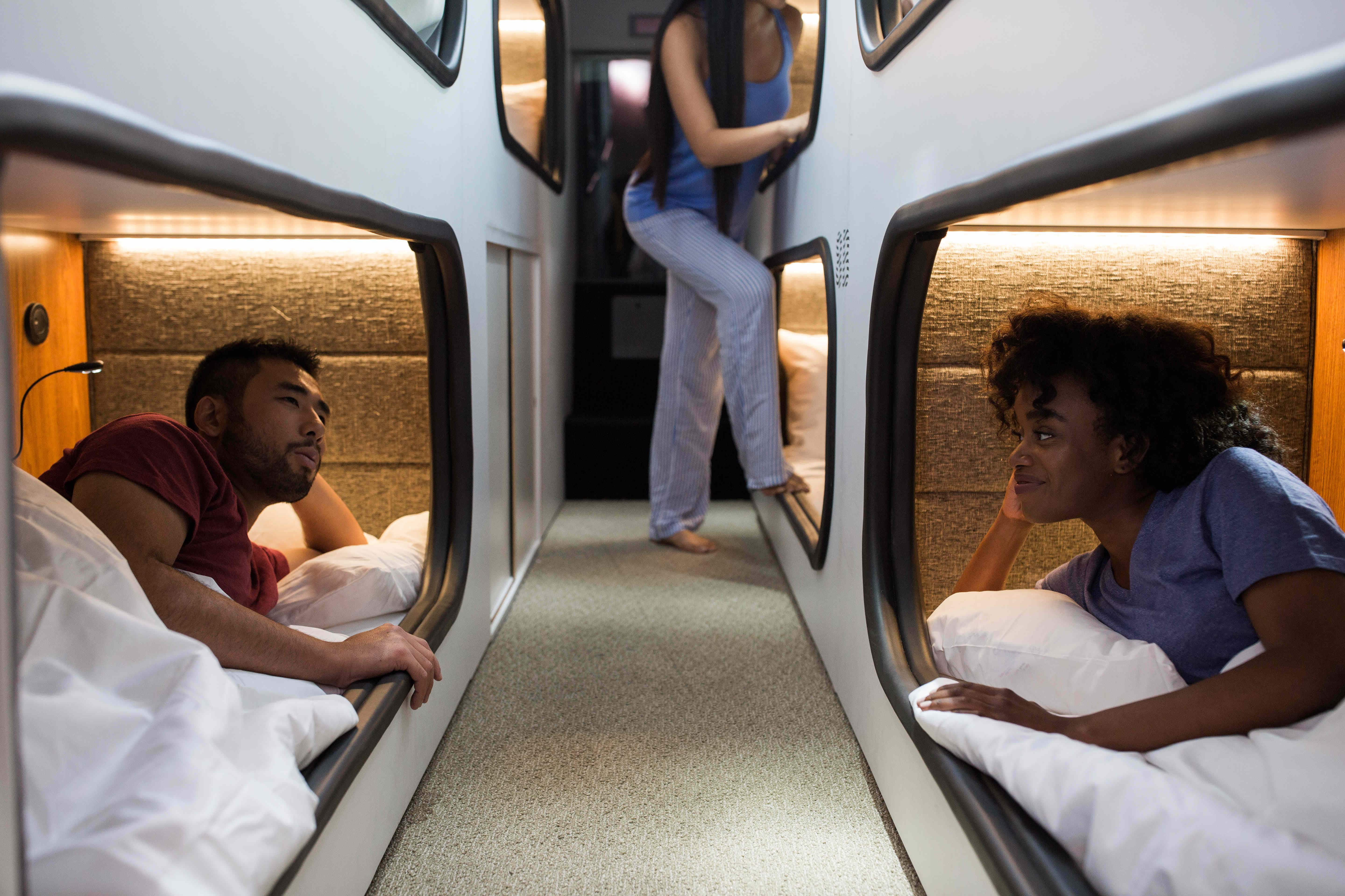 Sleep your way from San Francisco to LA on a 'moving hotel'