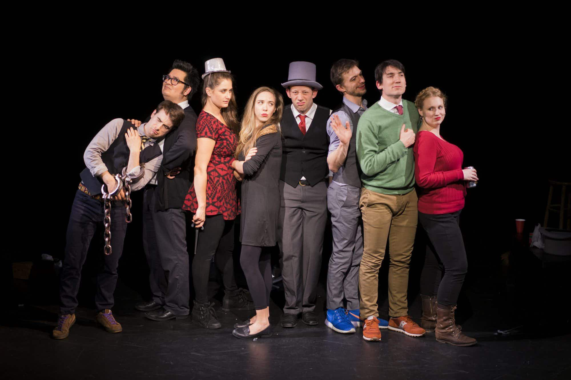 NYC's Ten Bones Theatre Company puts on a show with a little help from the audience