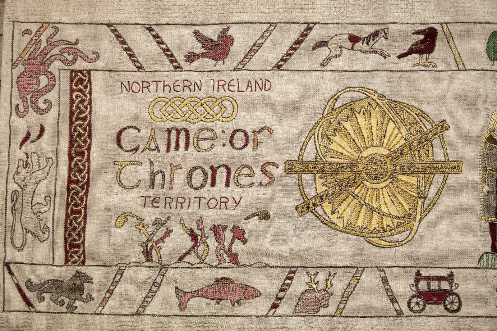 The Game of Thrones plot has been recreated in a spectacular Bayeux-style tapestry