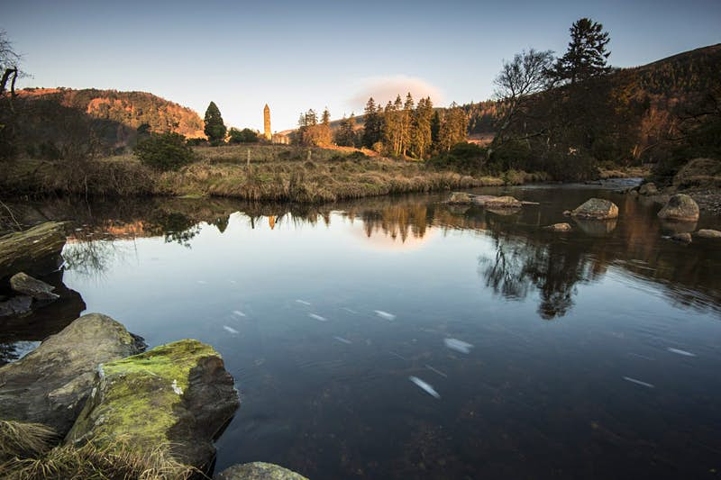 Travel News - Glendalough sunrise