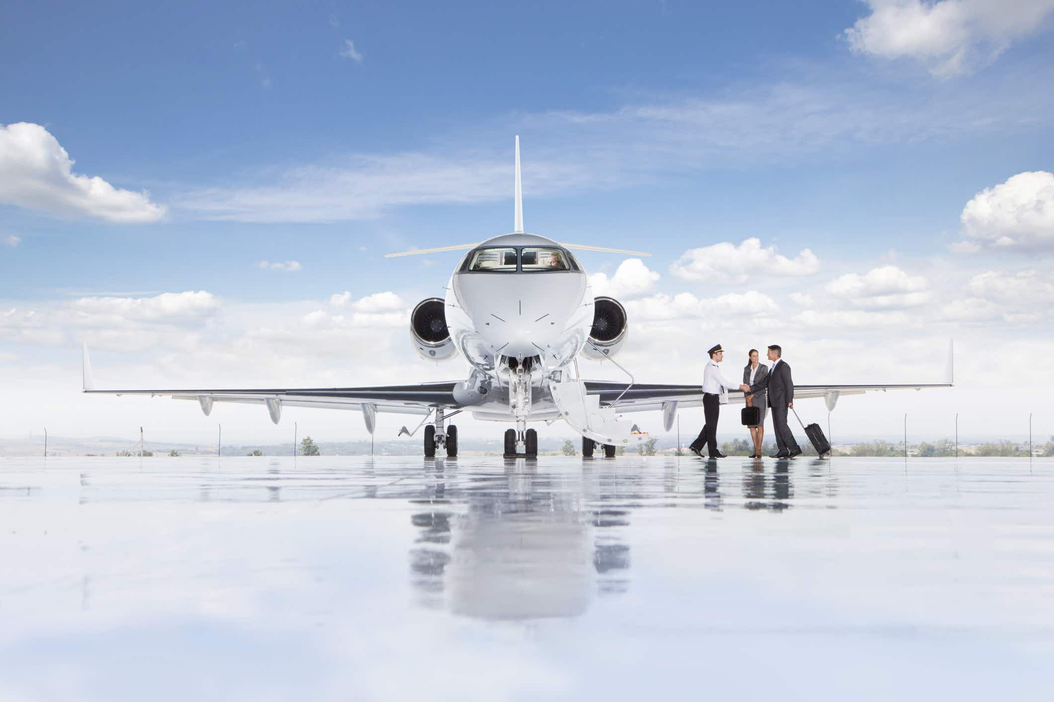 Fancy flying somewhere in a private plane for just a share of the costs? This app can arrange it