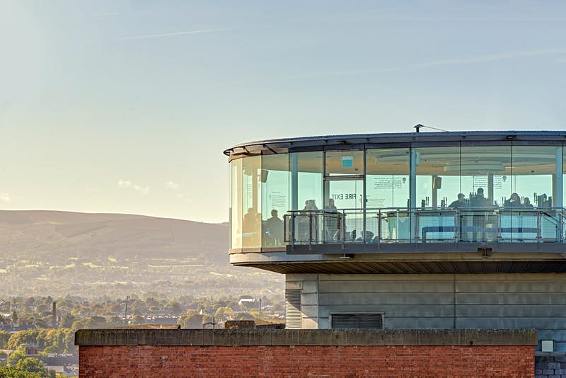 The Gravity Bar is known for its amazing views of Dublin.