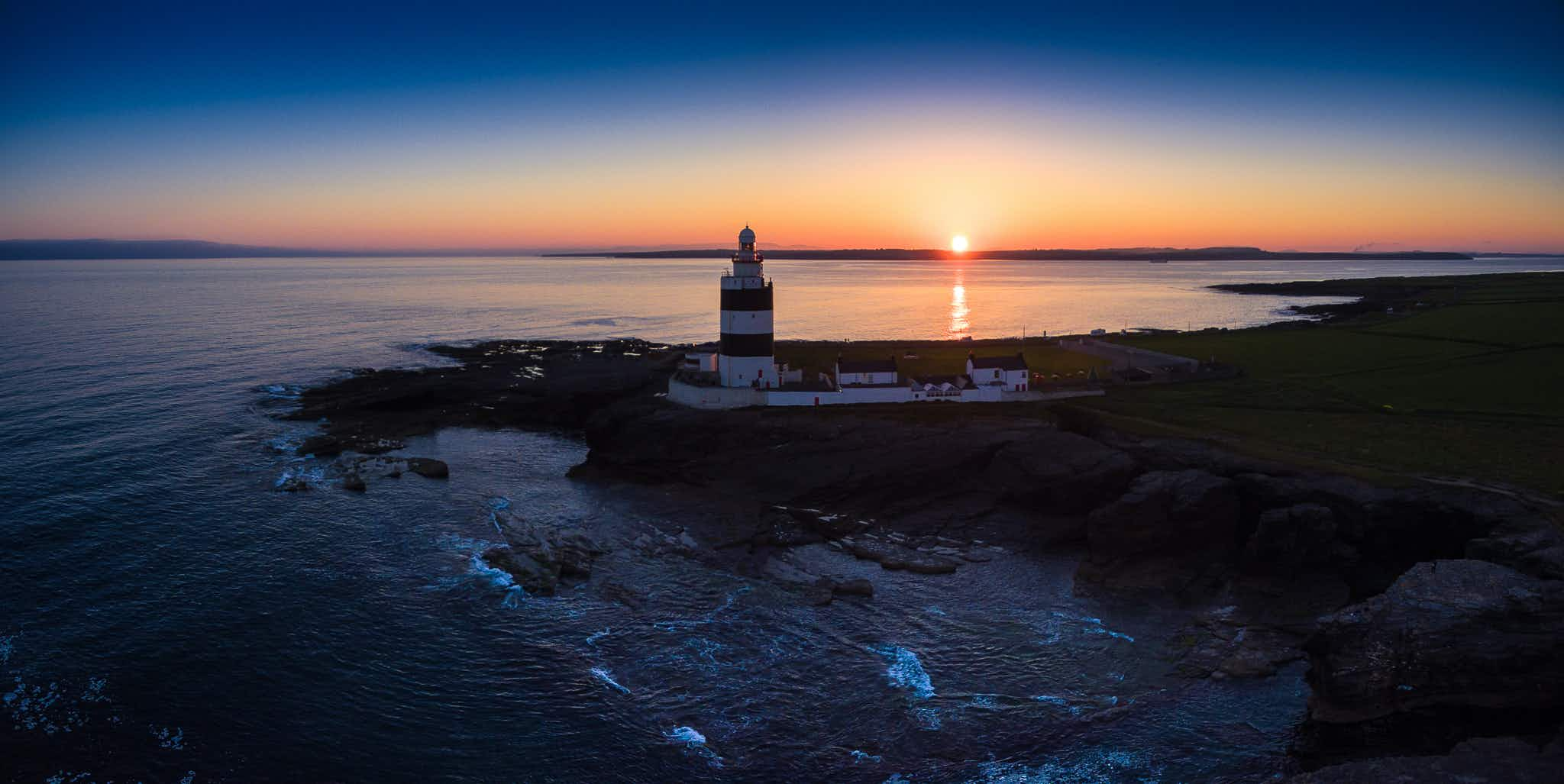 Take a sunset tour at the world's oldest working lighthouse in Ireland