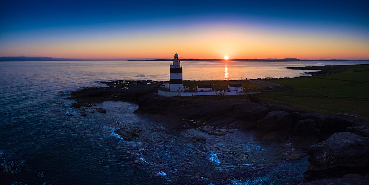 A sunset tour experience has been launched at the world's oldest working lighthouse in Ireland