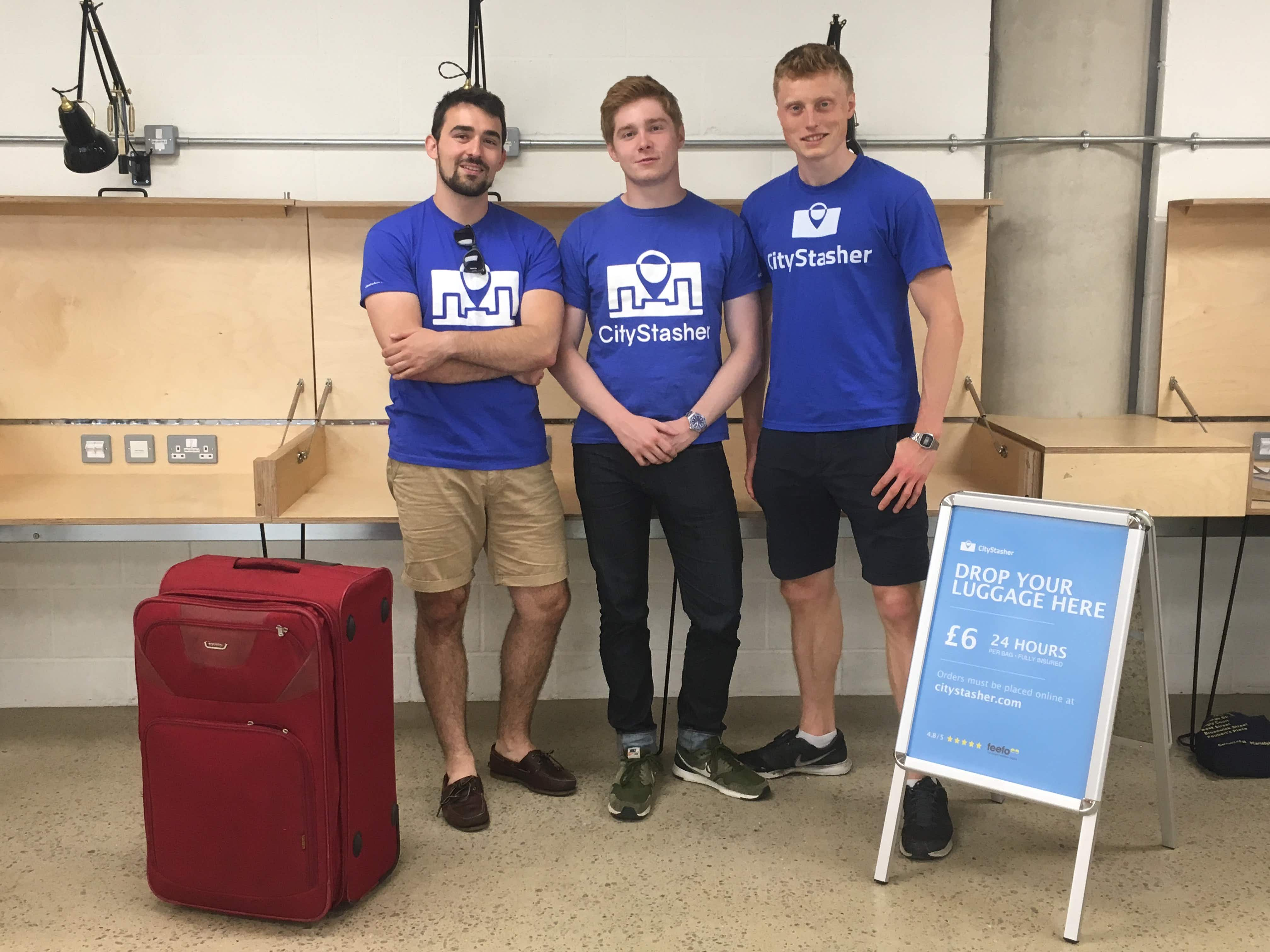 Lugging your bags around the city? Startup aims to make storing luggage around London much easier