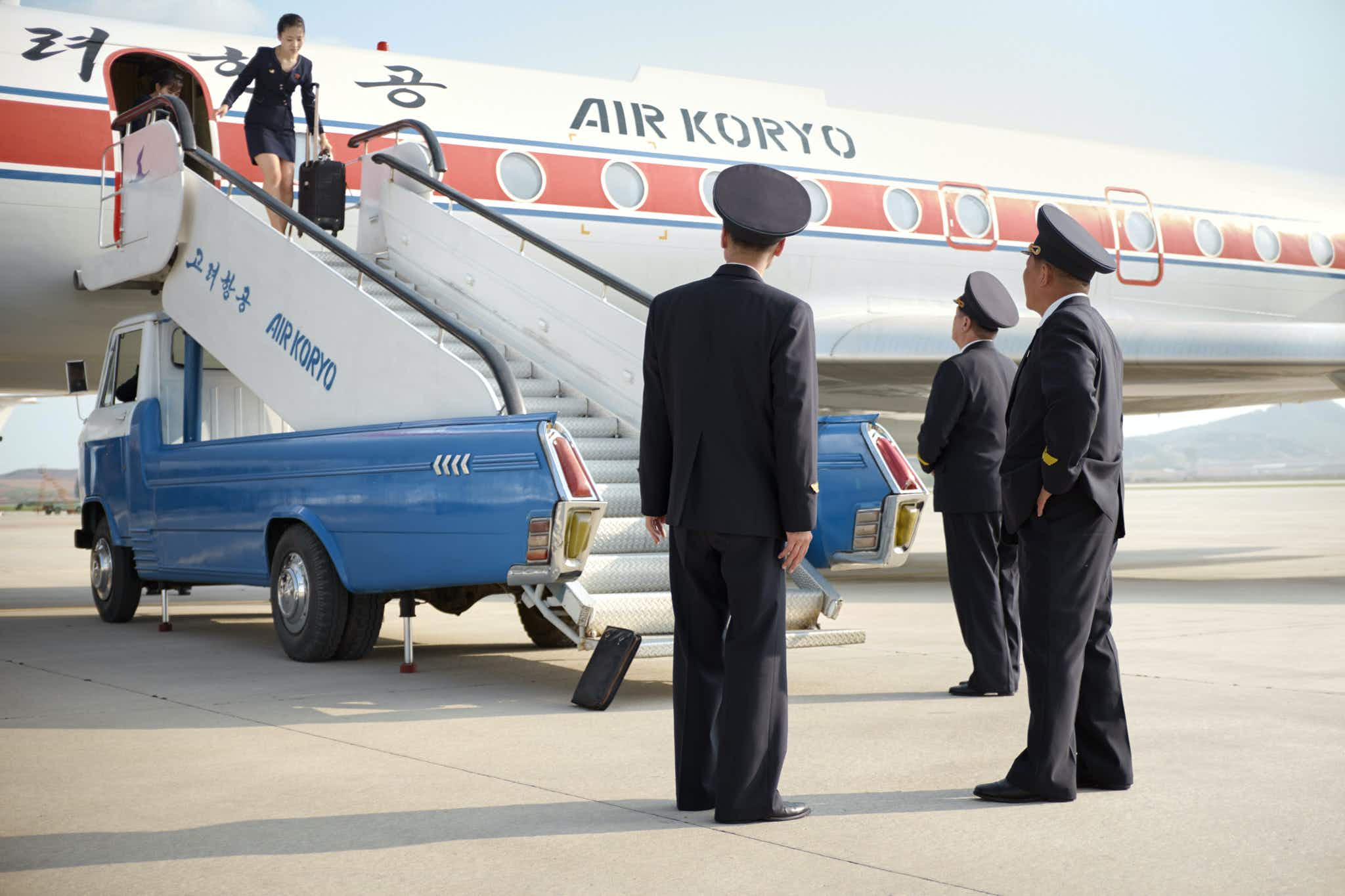 Get a behind-the-scenes look at North Korea's state-run airline