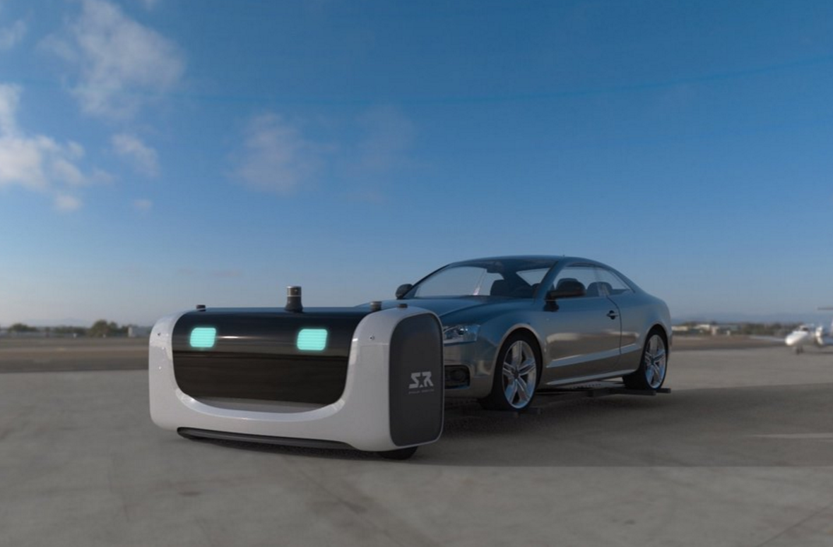 No more hunting for a parking space at one French airport, as Stan the robot will valet-park your car