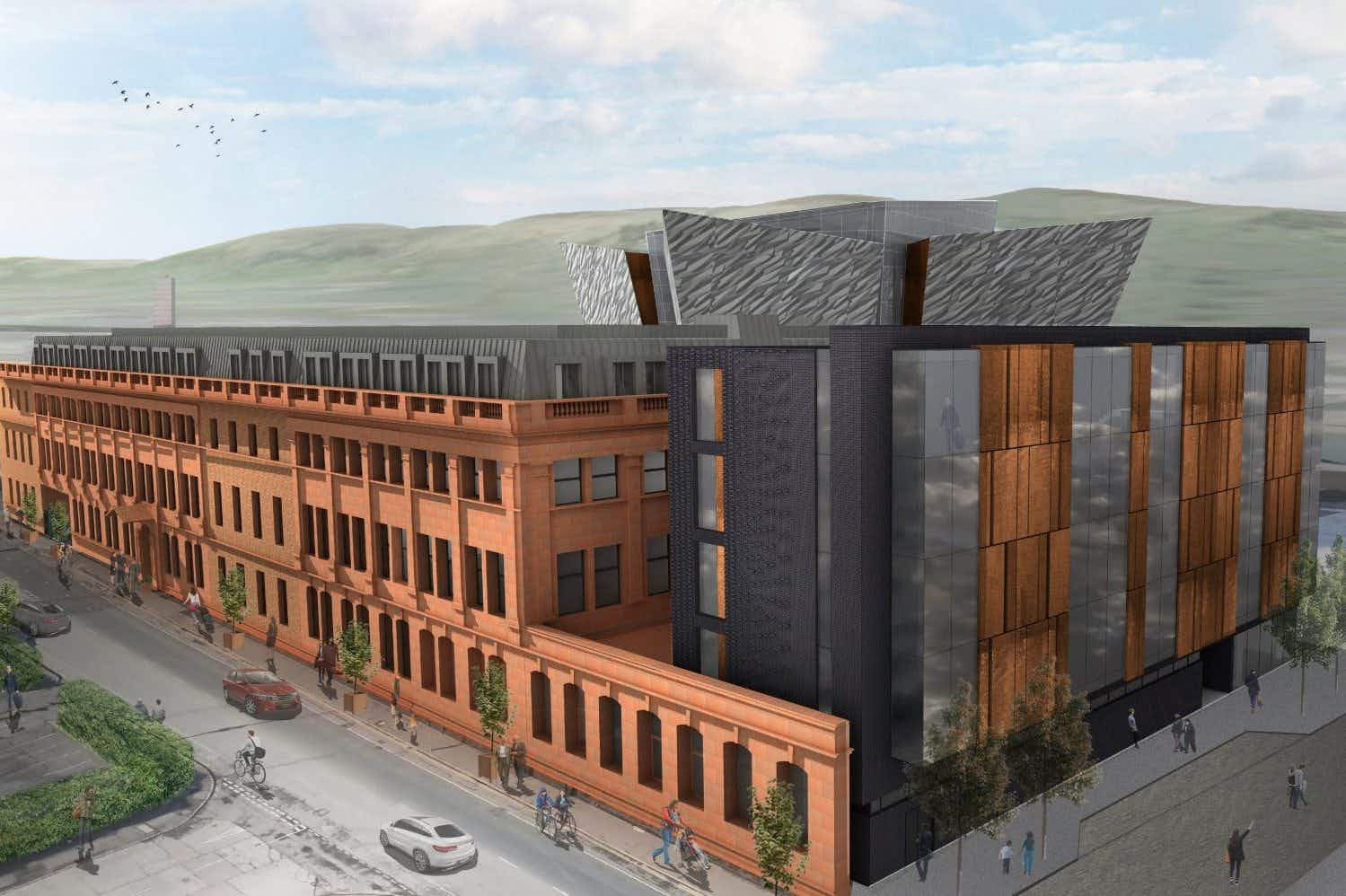 The Titanic Hotel Belfast is set to open in the building where the ill-fated liner was designed