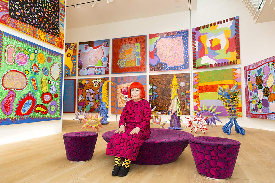 Yayoi Kusama's trippy new art exhibition opens at Seattle Art Museum