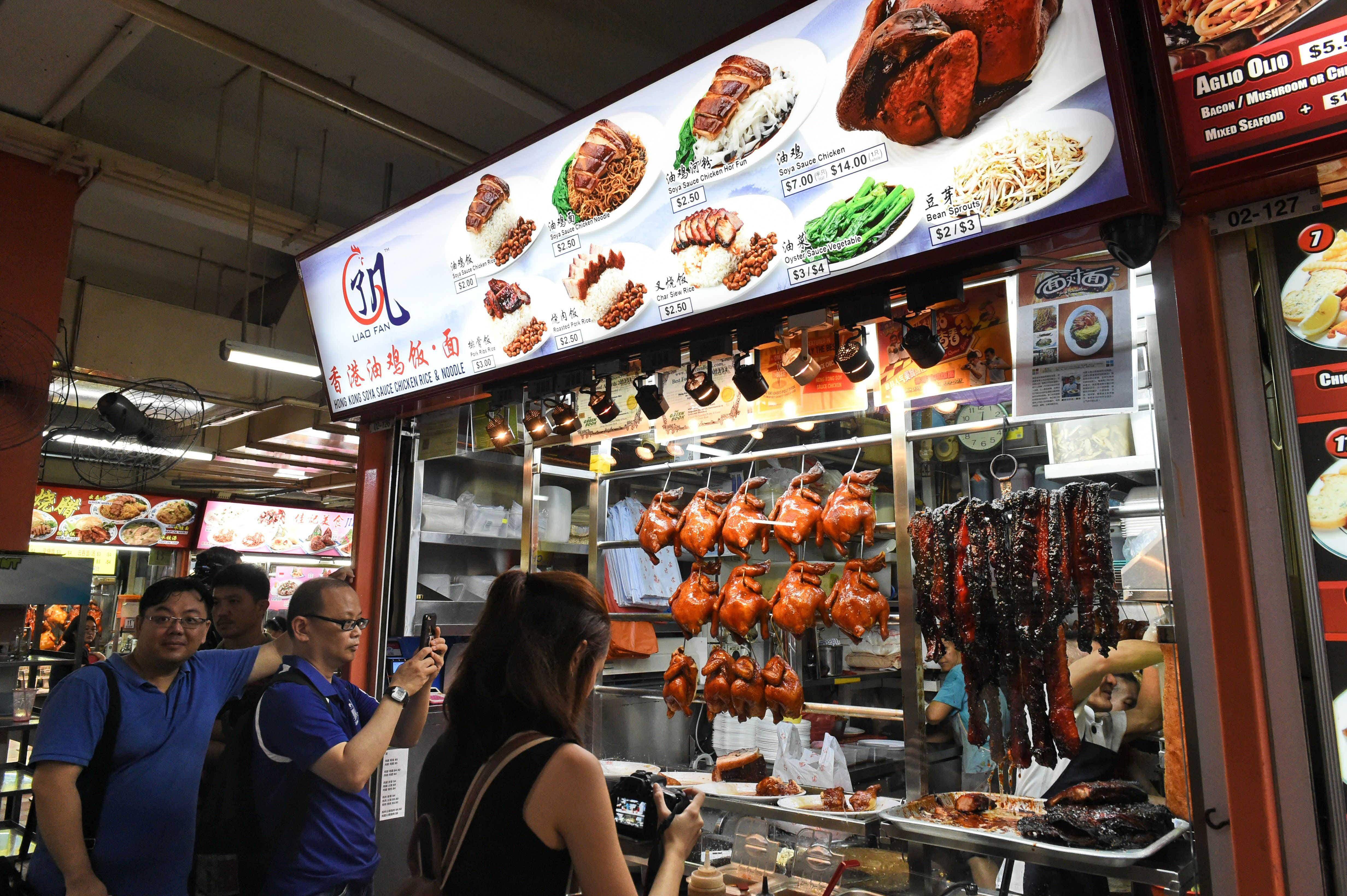 Singapore's famed Michelin-starred street food stall opens new spot in Jakarta