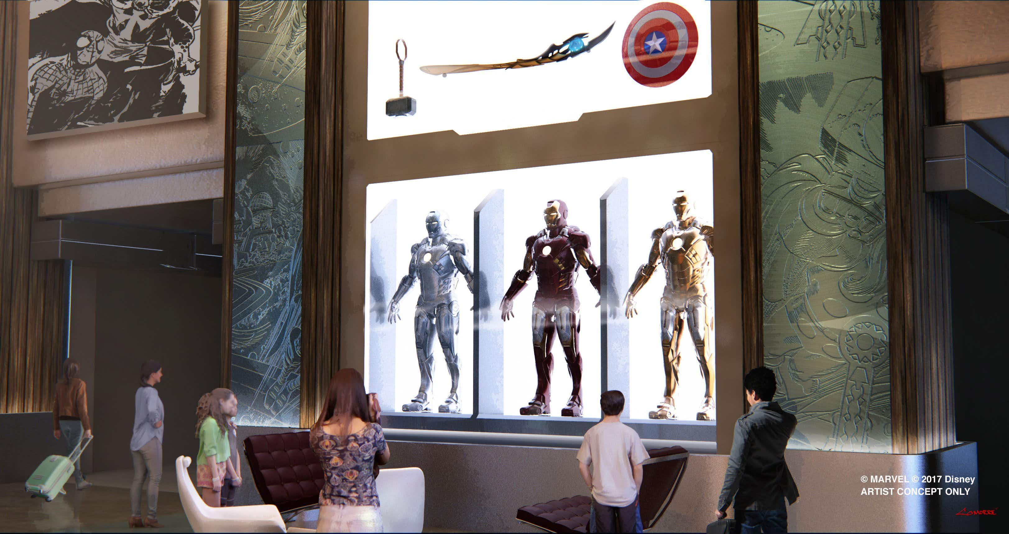 Has your spidey sense been tingling lately? Disneyland Paris is getting a Marvel-themed hotel