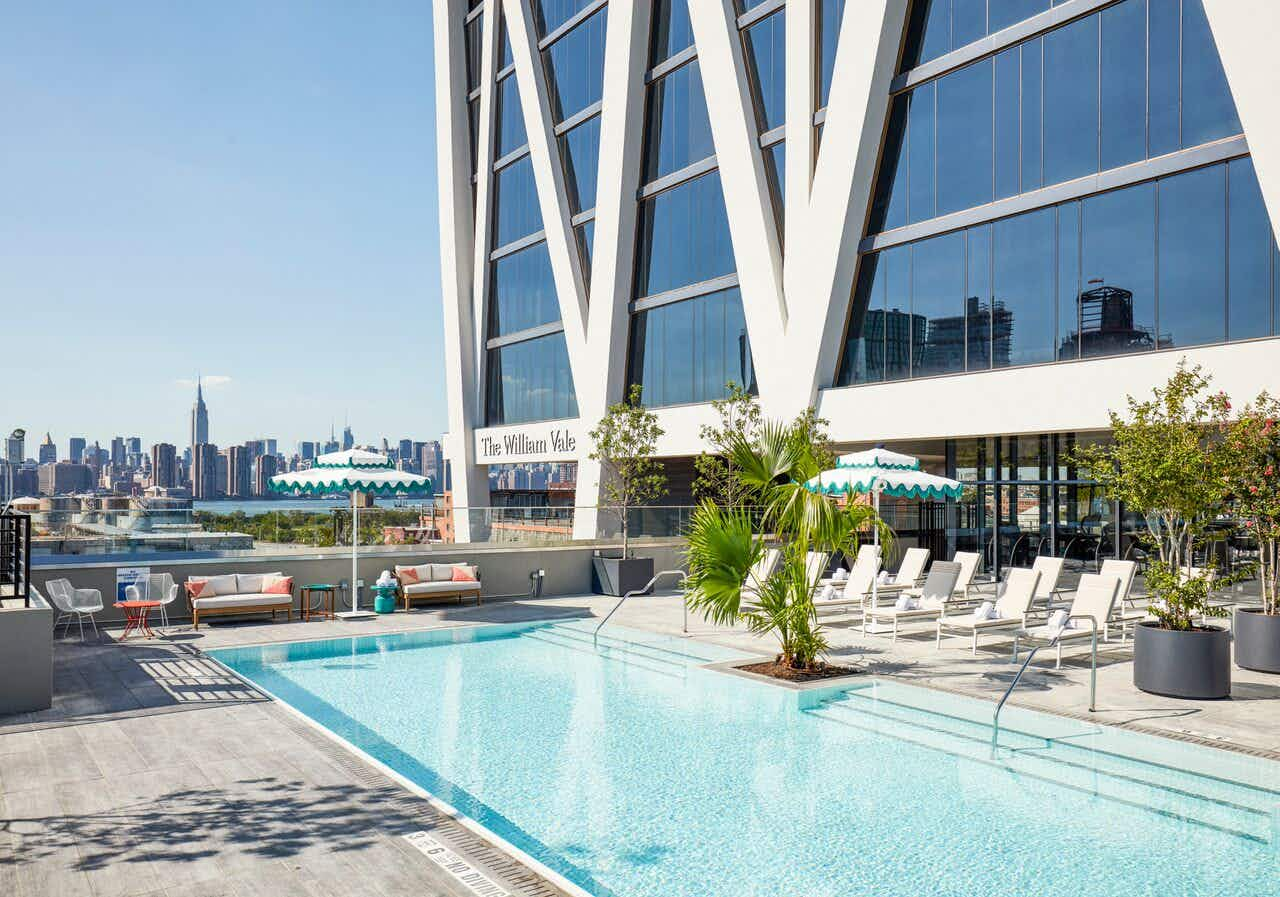 Get a breath of fresh air at a new hotel that's becoming Brooklyn locals' hottest spot for pool parties