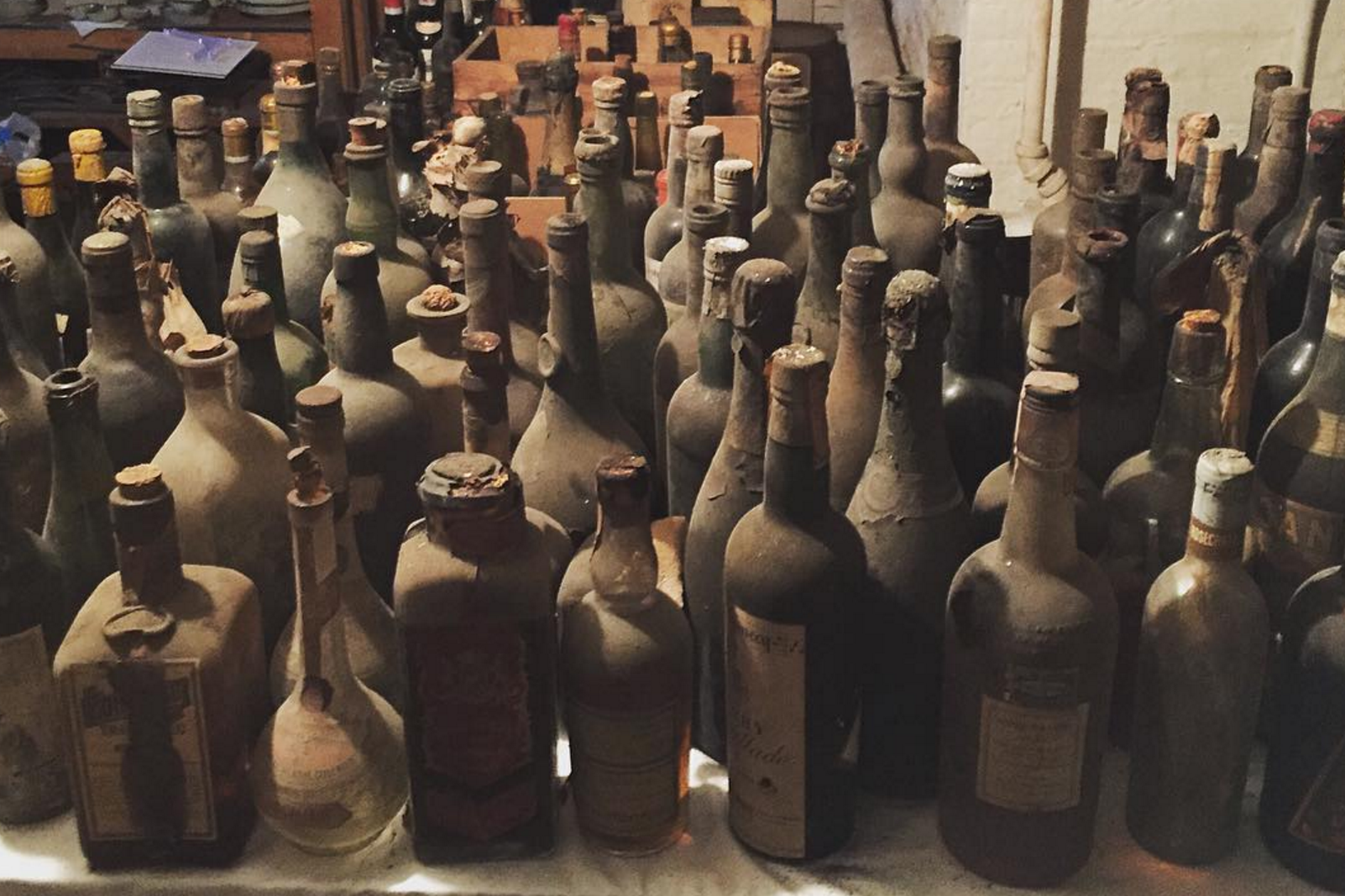 A New Jersey museum has discovered Madeira wine in its cellar dating back to 1796