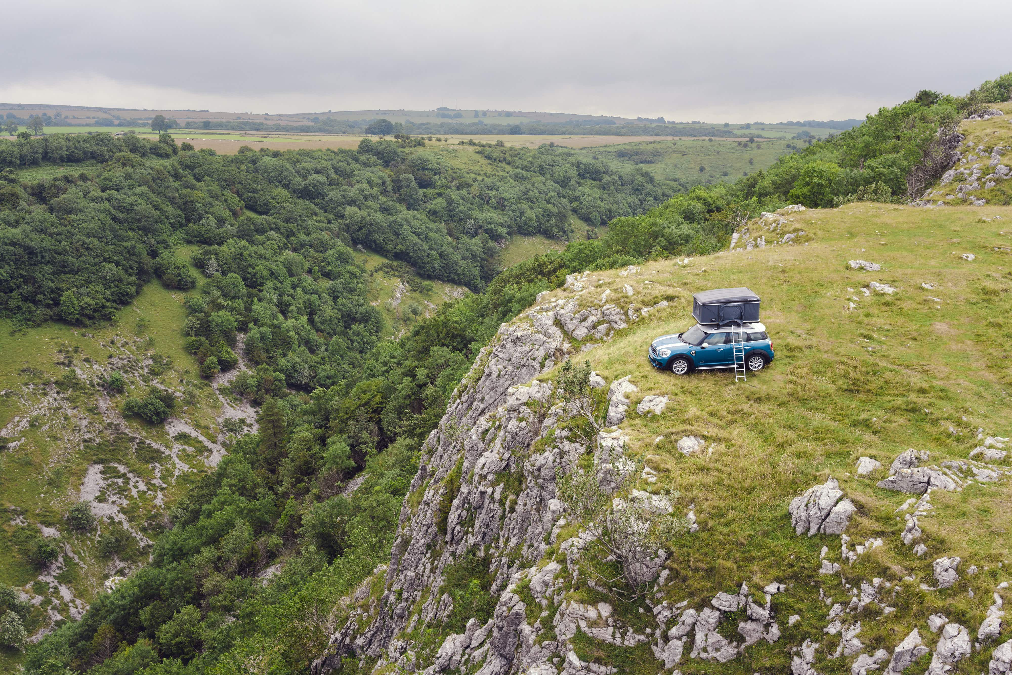 Win a car rooftop tent stay at a place of outstanding natural beauty in the UK