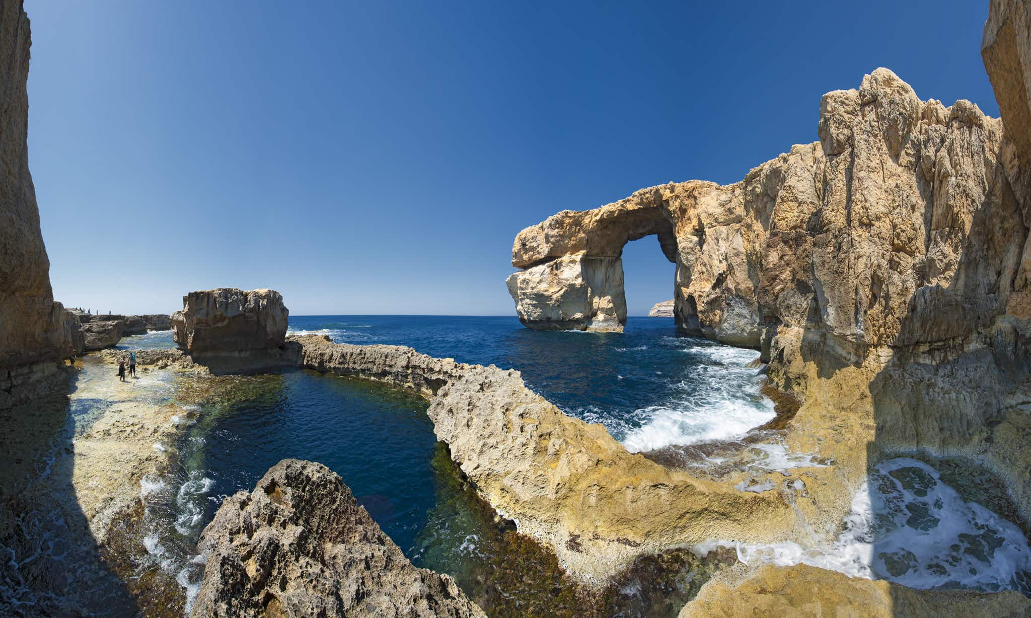 Malta's collapsed Azure Window rock arch has found a new purpose as a top dive site