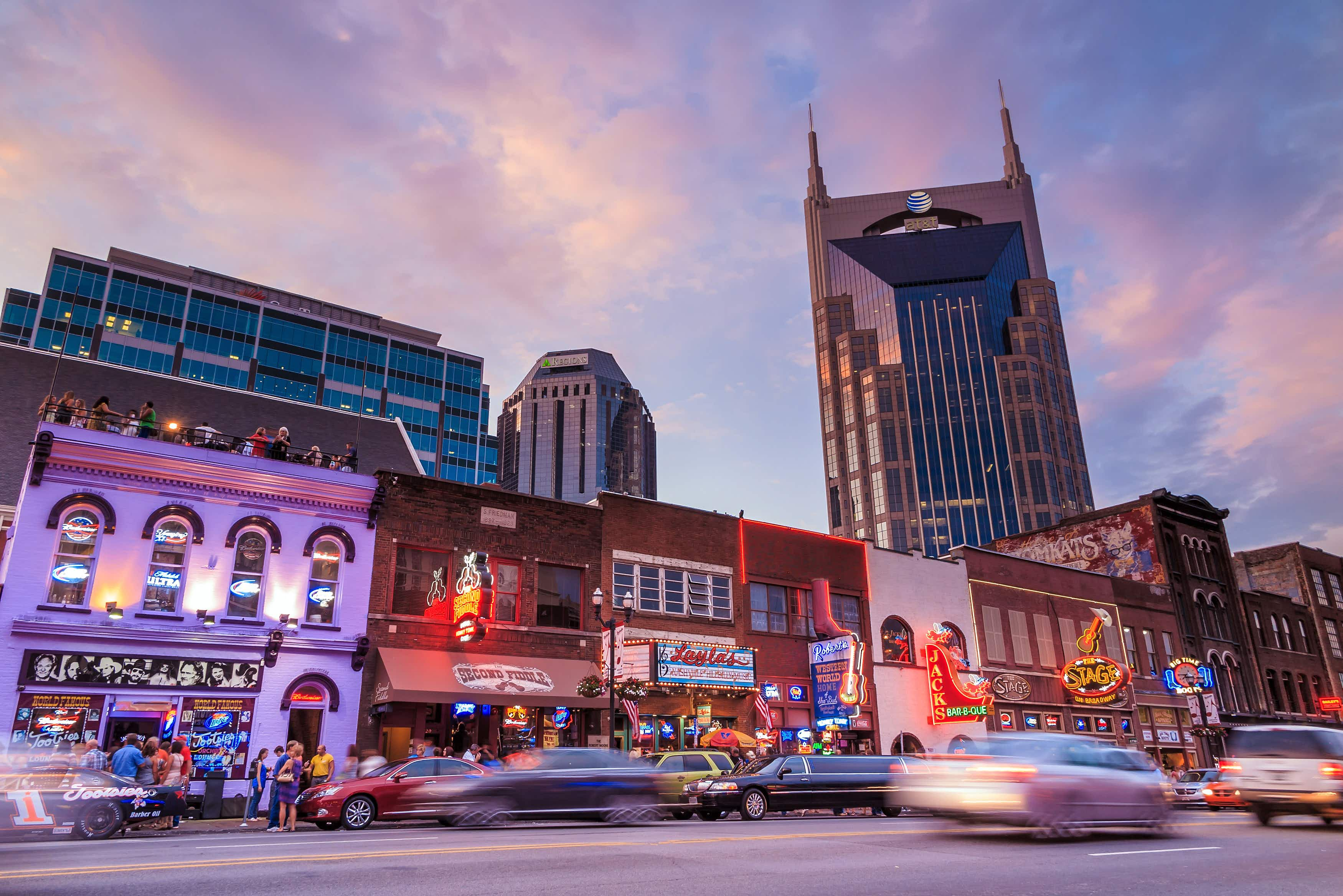 There's a new way to party in downtown Nashville – on a barge!