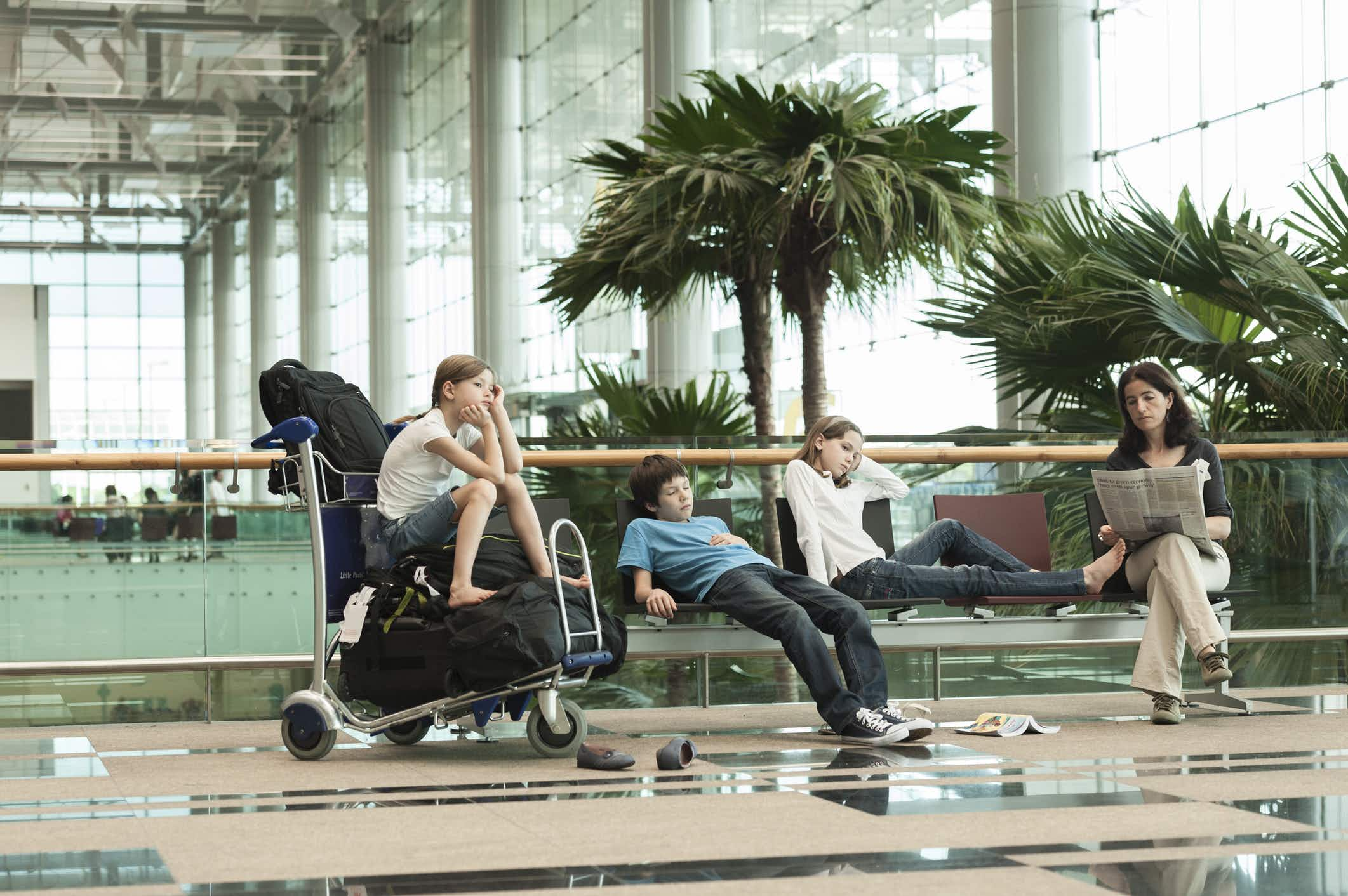 The longest flight delays for travellers coming back to the UK have been revealed