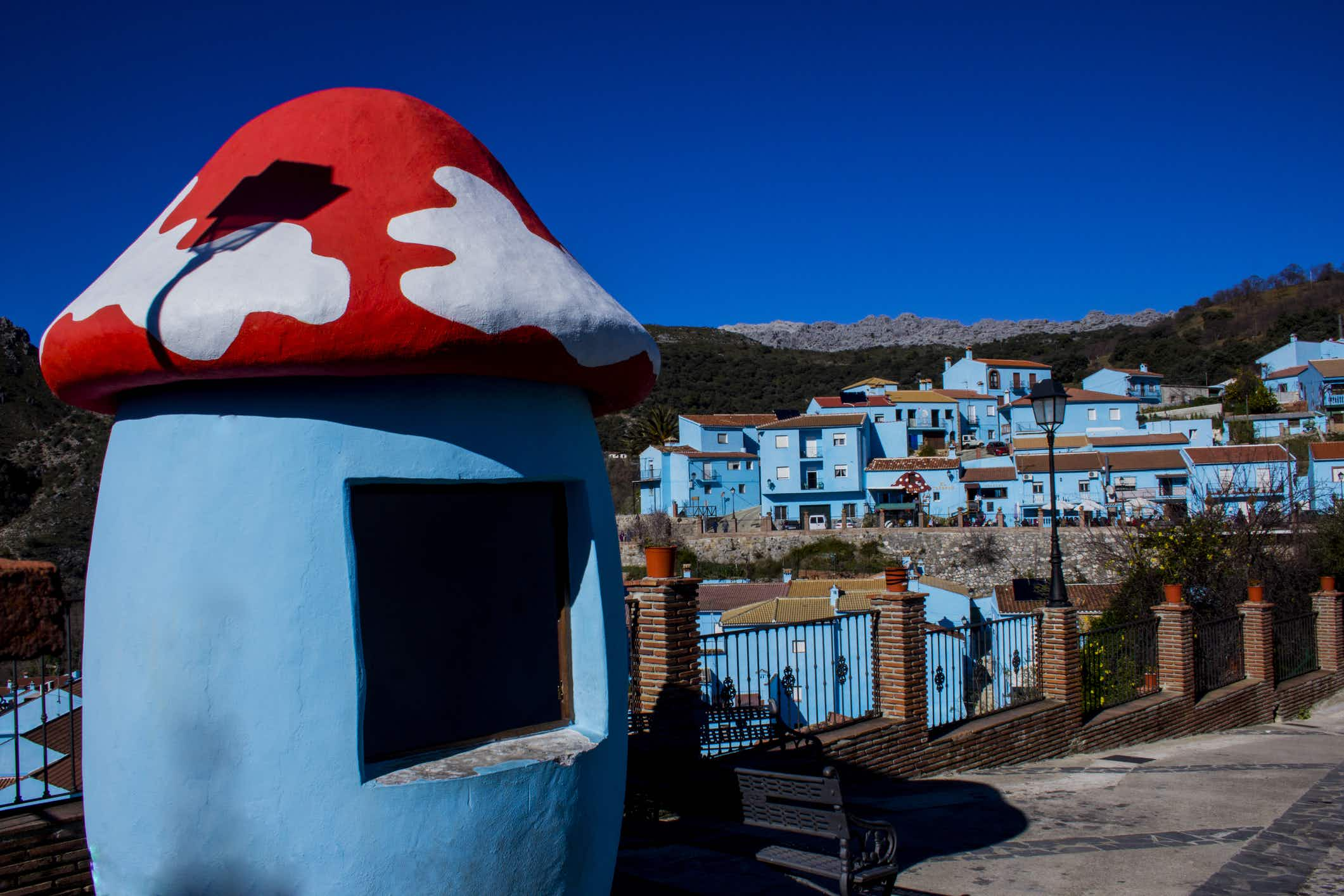 Smurfs set for eviction from Spain's famous bright blue village of Júzcar