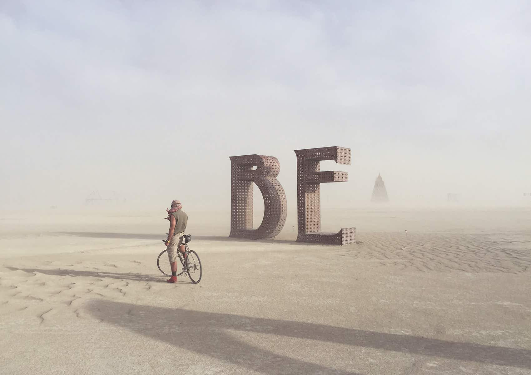 Photographer shares images from six years of Burning Man desert festival