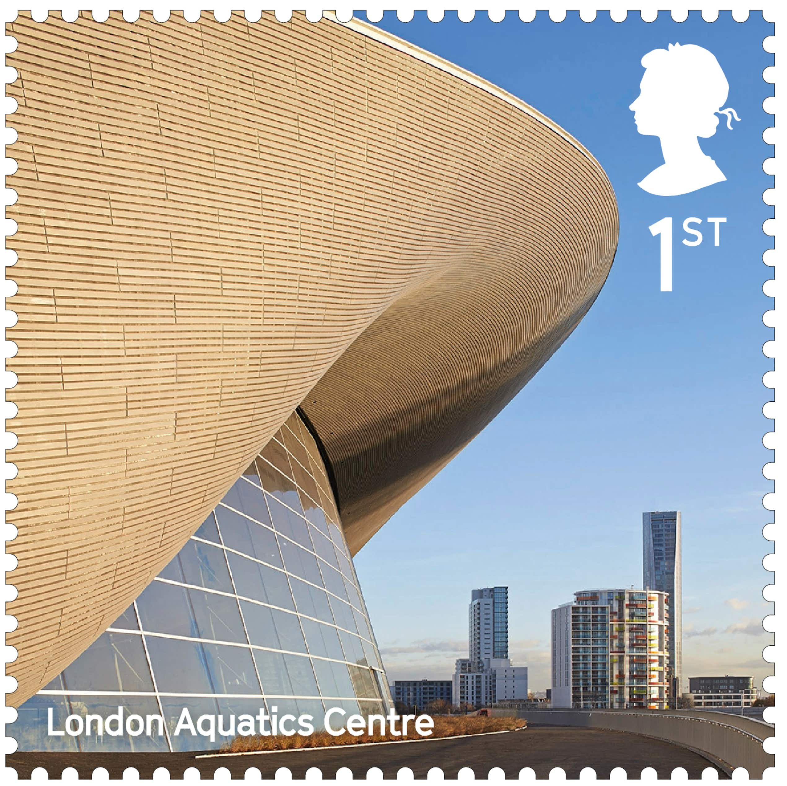 Britain's modern-day wonders celebrated in new Royal Mail stamp collection
