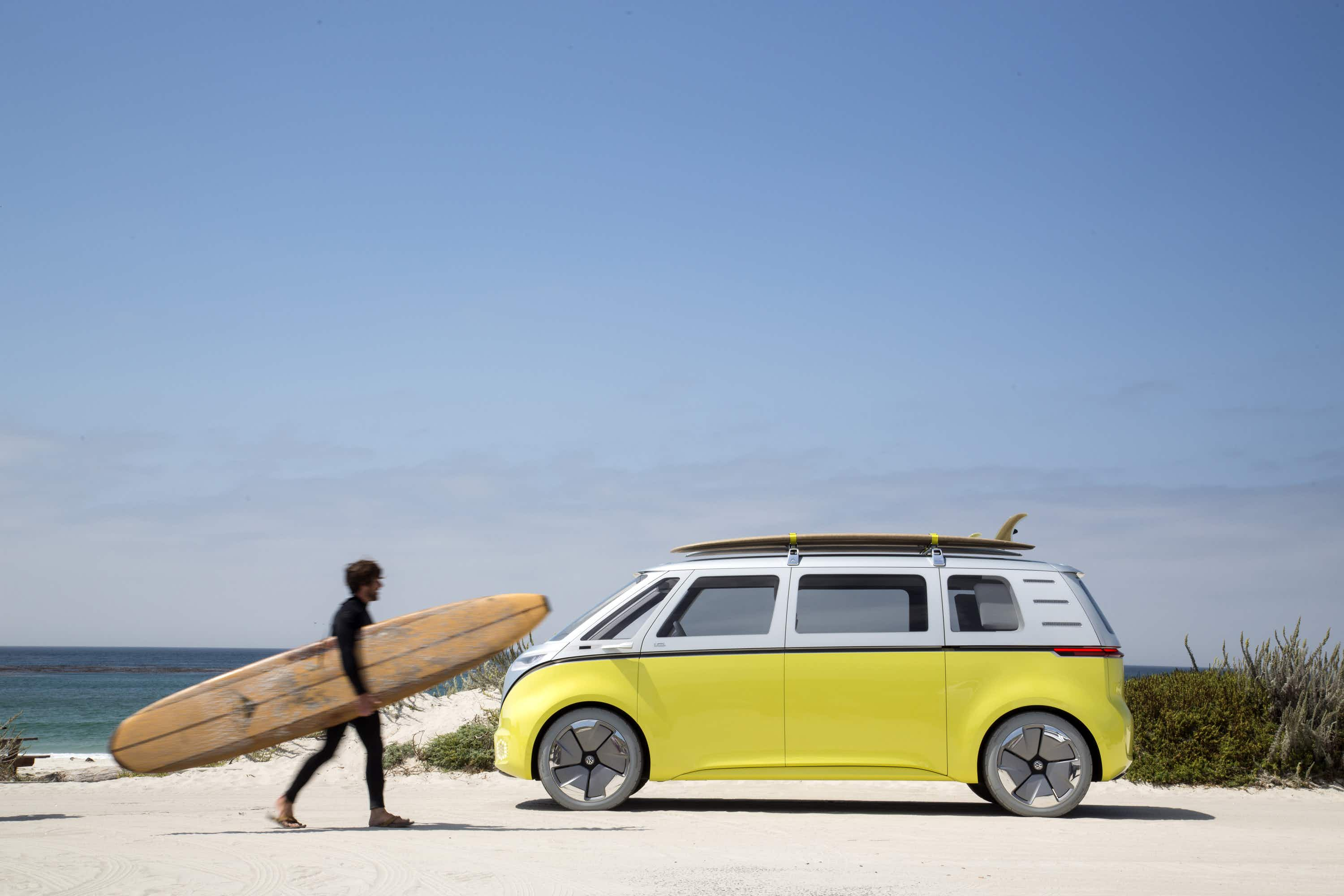 Back to the future - Volkswagen's futuristic electric campervan is going into production