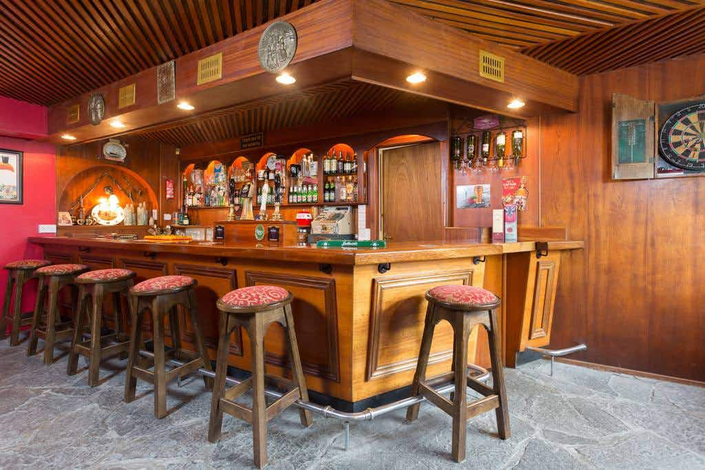 No need to stick to closing time when you sleep overnight in this charming Irish pub